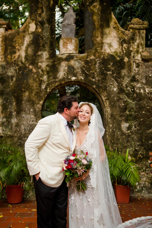 cristina andre wedding couple