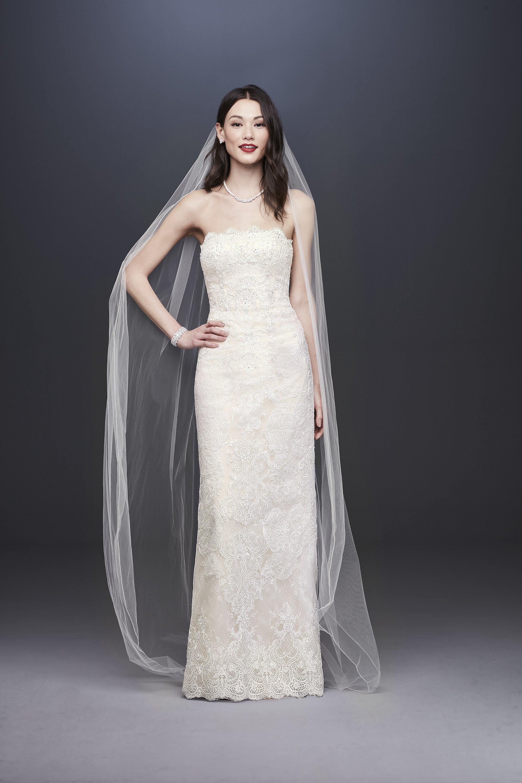 d88bf55dc6 David's Bridal Fall 2019 Wedding Dress Collection | Martha Stewart ...