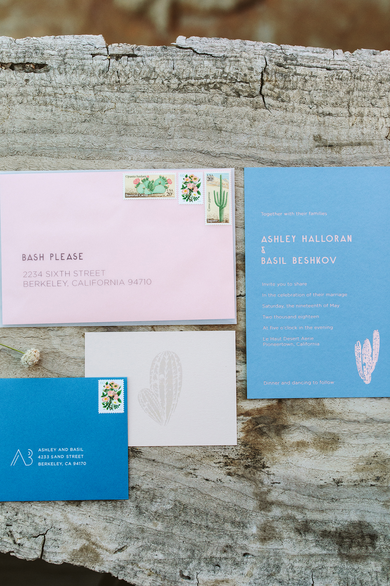 Invitations Inspired by the Landscape