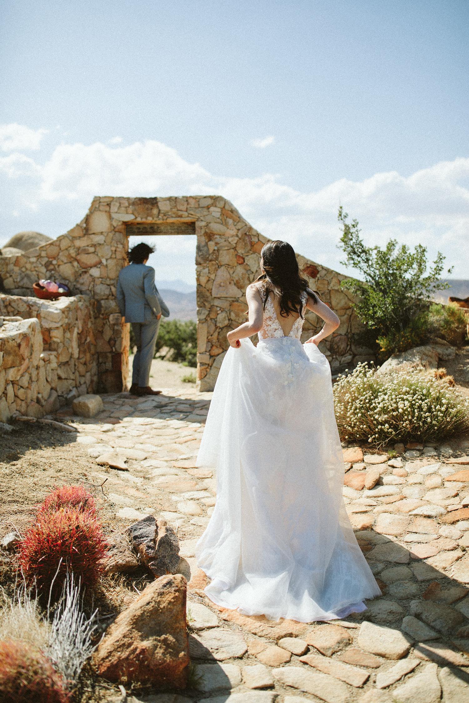 ashley basil wedding first look