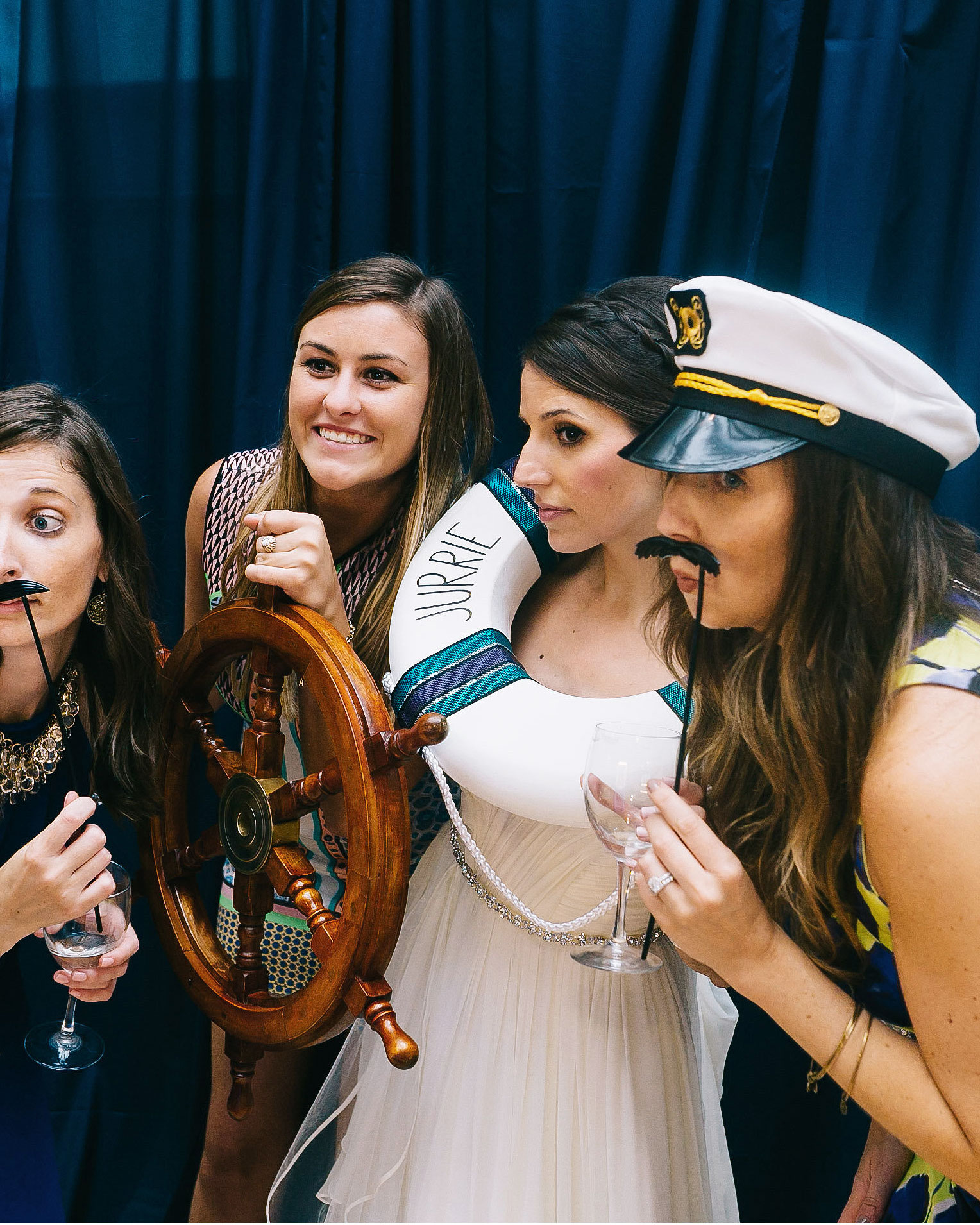 Nautical Wedding Photo Booth Props