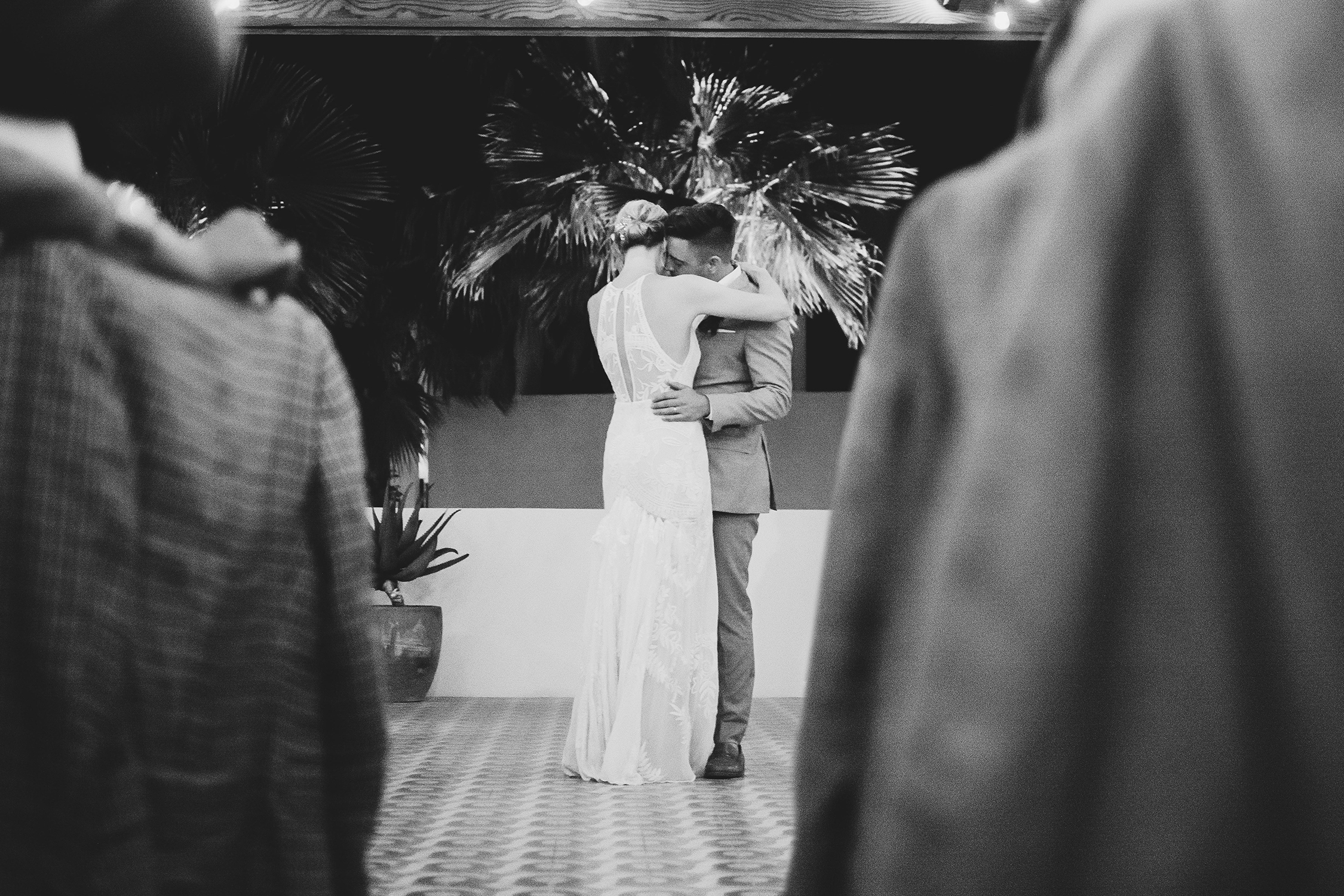 lisa sam mexico wedding first dance