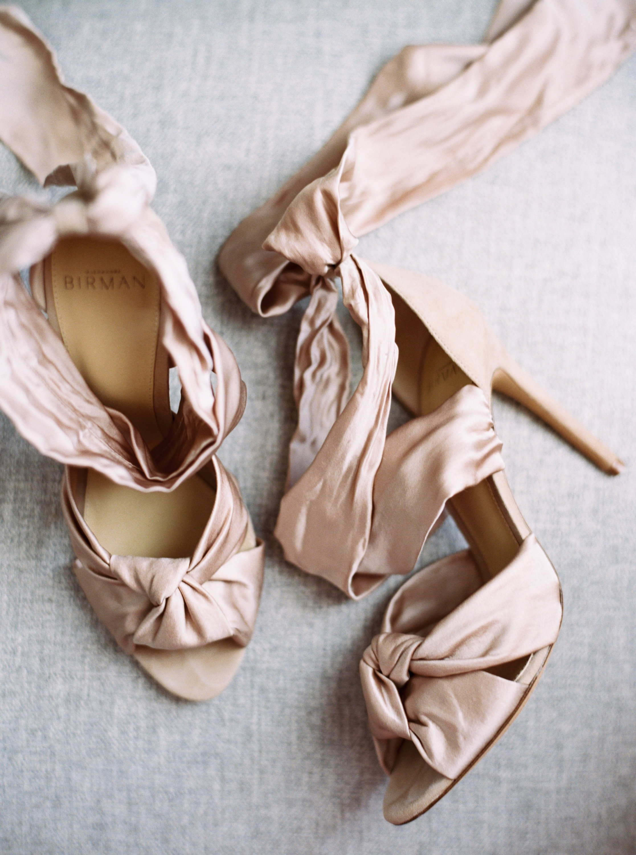 brides silk satin suede shoes