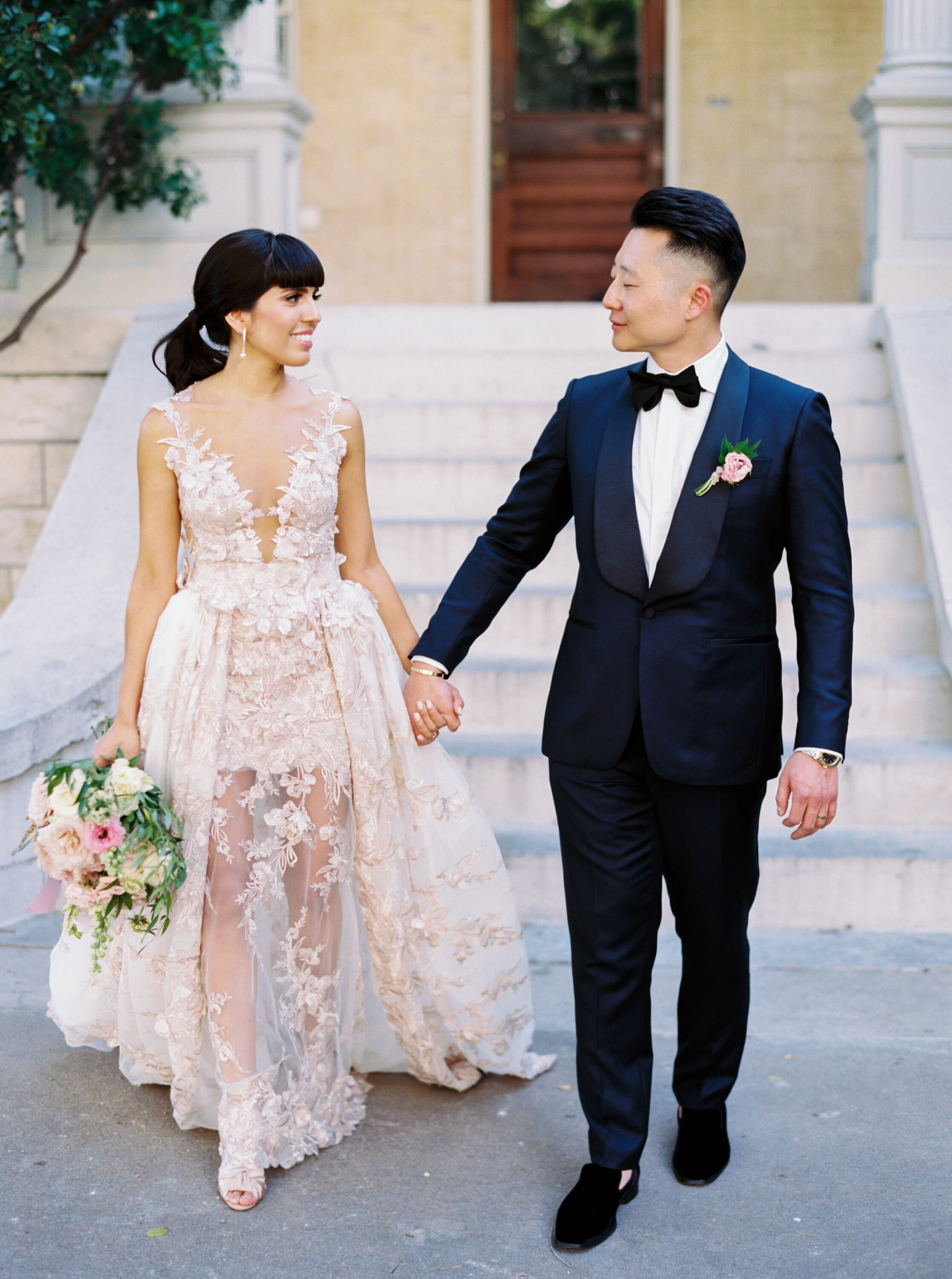 f05dc297620 This Couple's Spring Wedding Was Full of Worldly Charm   Martha ...