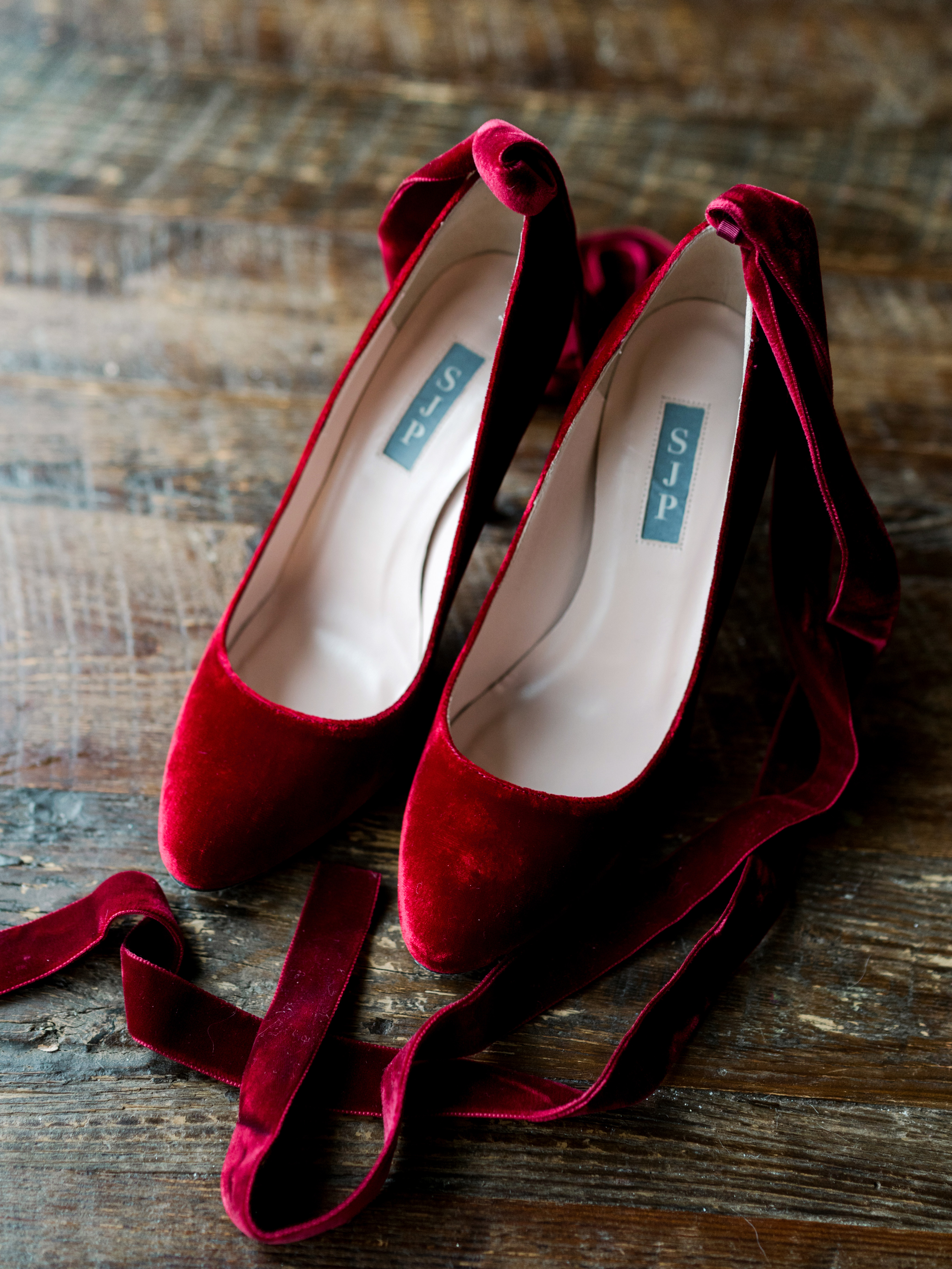 lauren christian christmas wedding velvet shoes bride