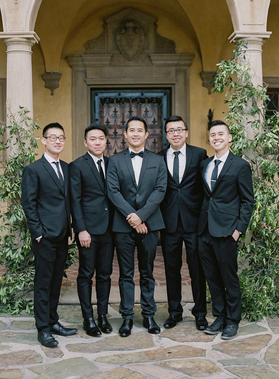 emme daji wedding groomsmen