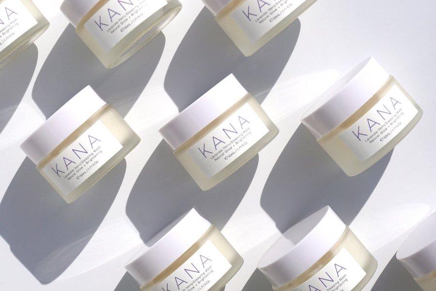 cbd beauty kana skincare lavender sleeping mask