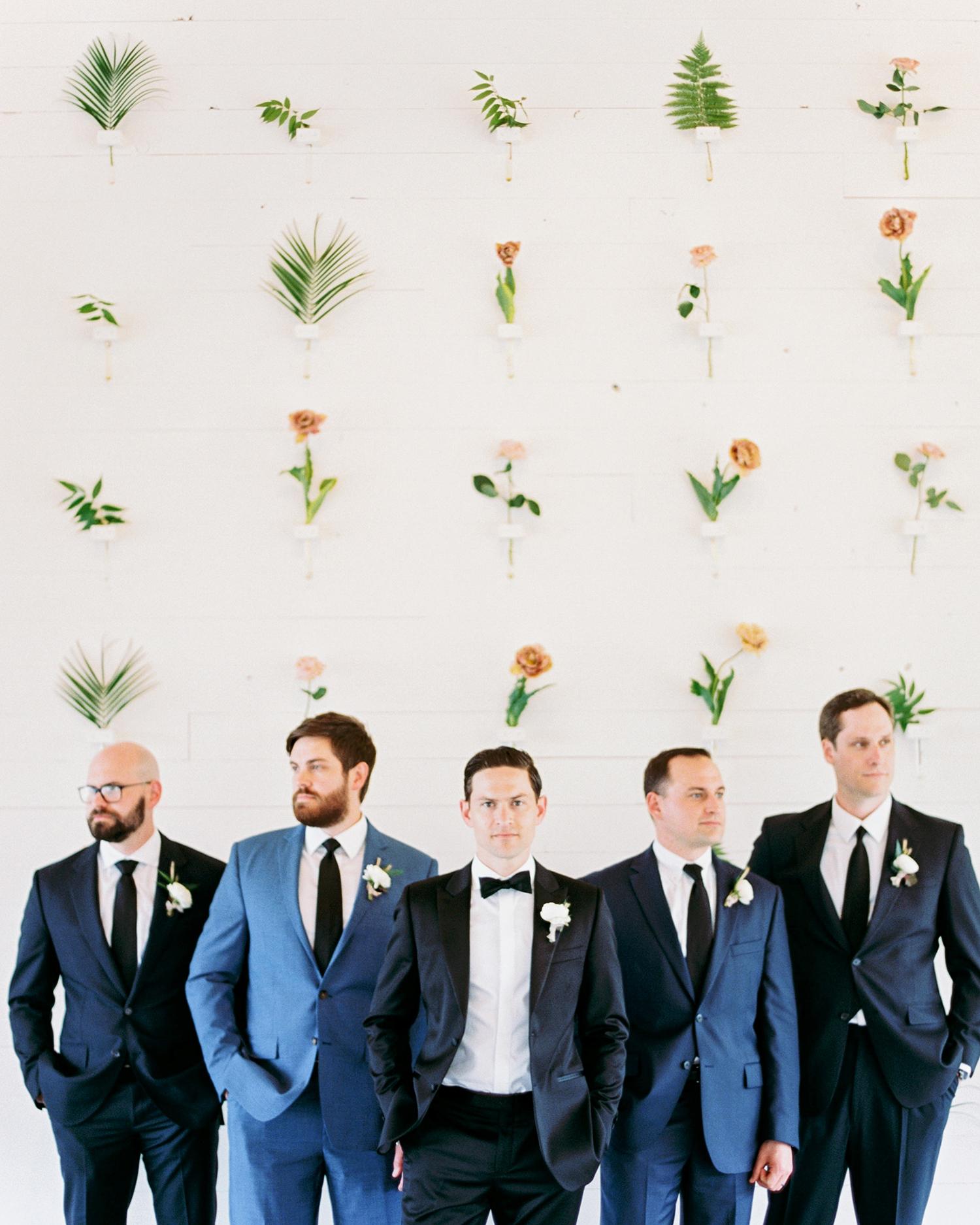 amanda chuck wedding groomsmen