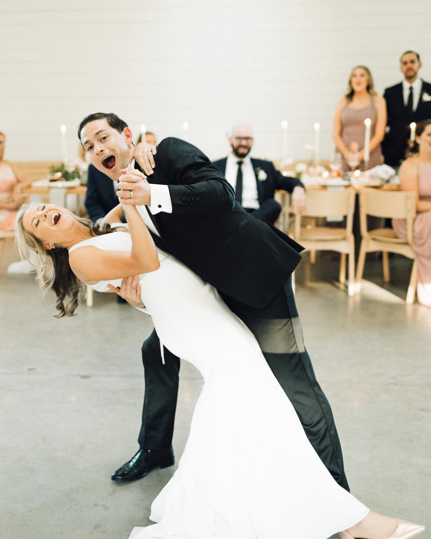 amanda chuck wedding couple first dance