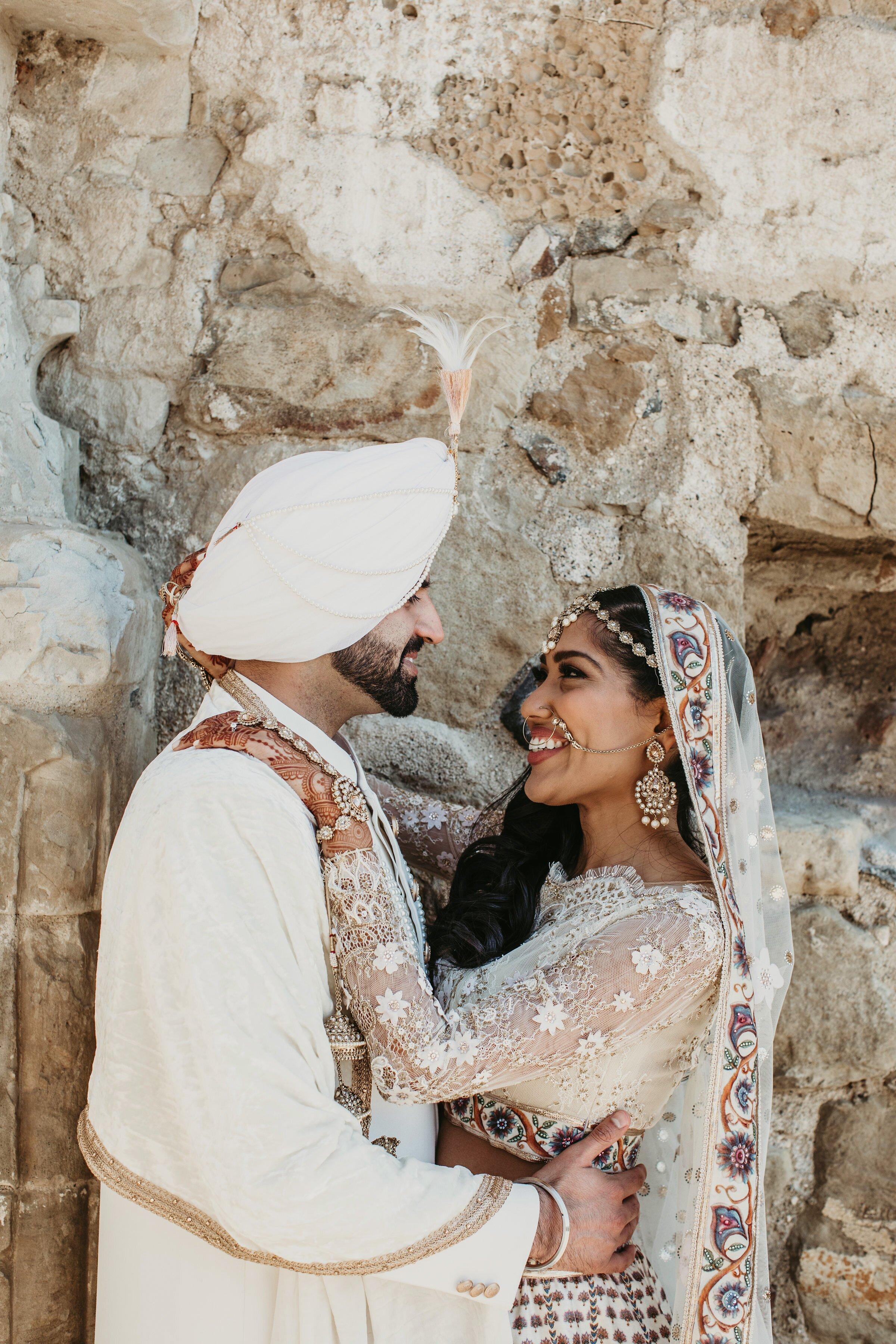 A Dramatic California Wedding with Hindu and Sikh Elements   Martha