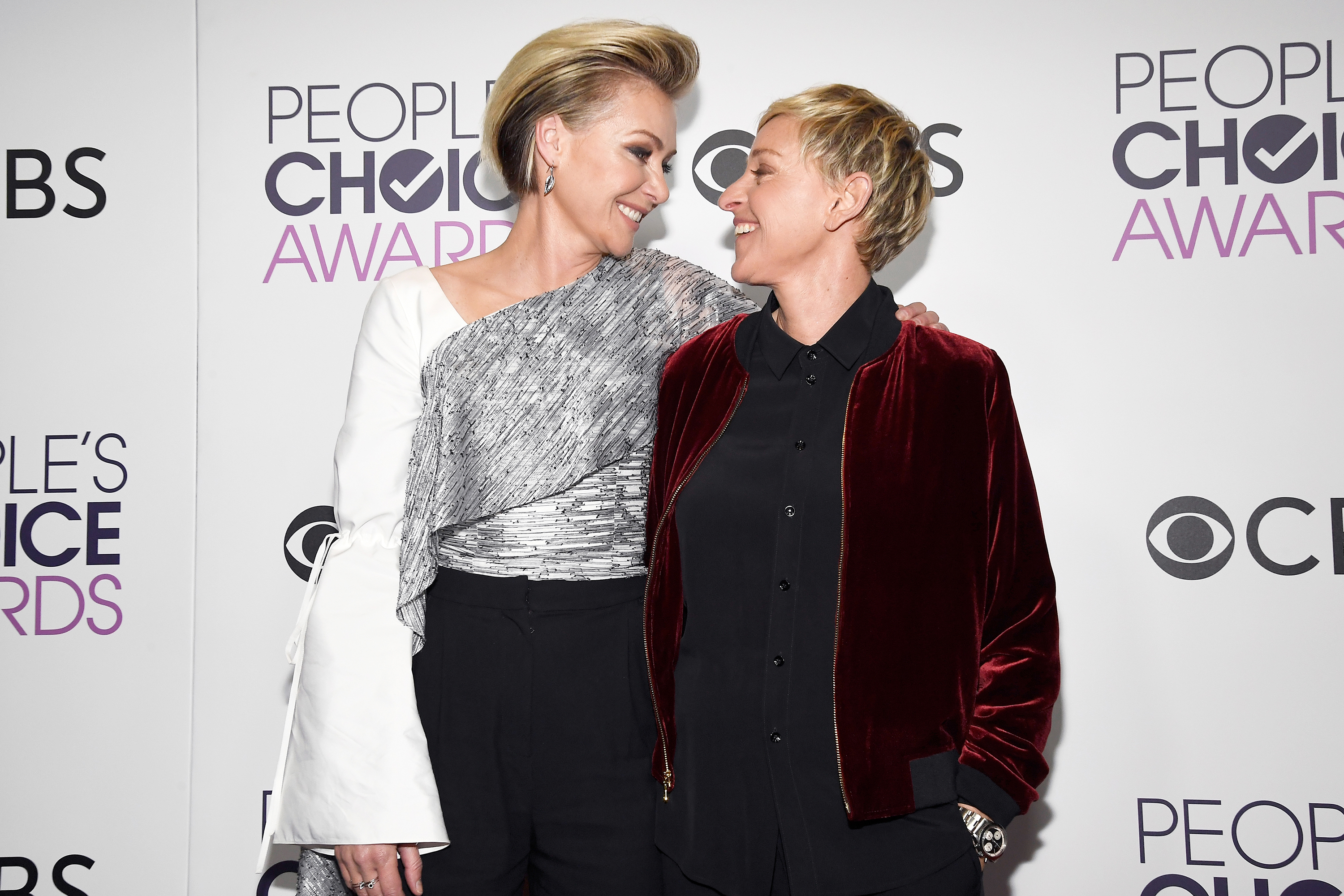 ellen degeneres portia de rossi peoples choice awards