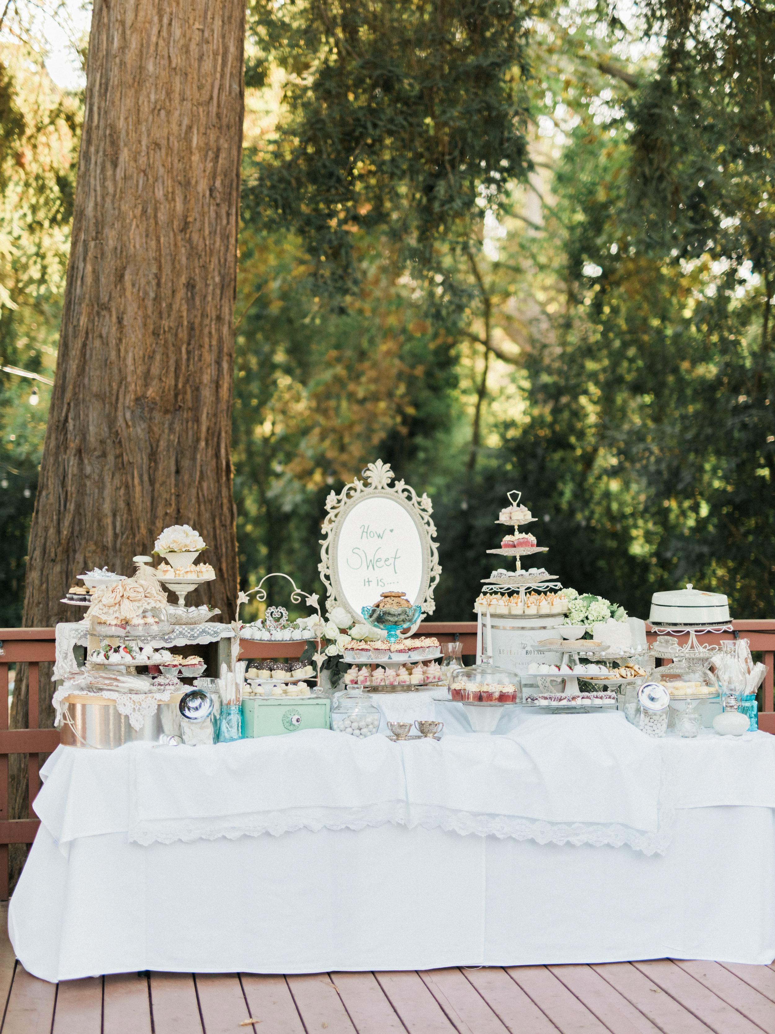 How To Create The Ultimate Wedding Dessert Table Martha Stewart