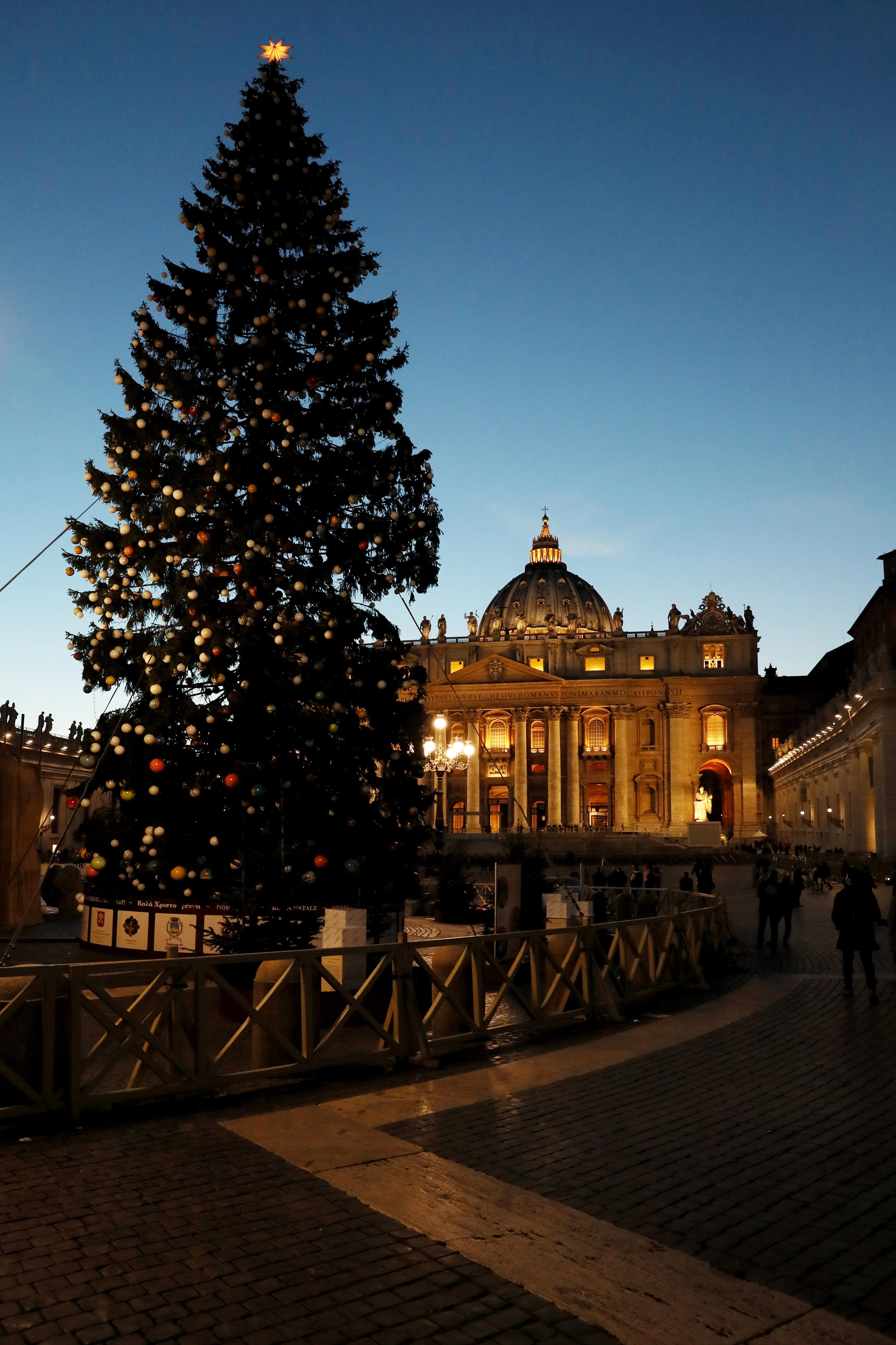 christmas vatican city