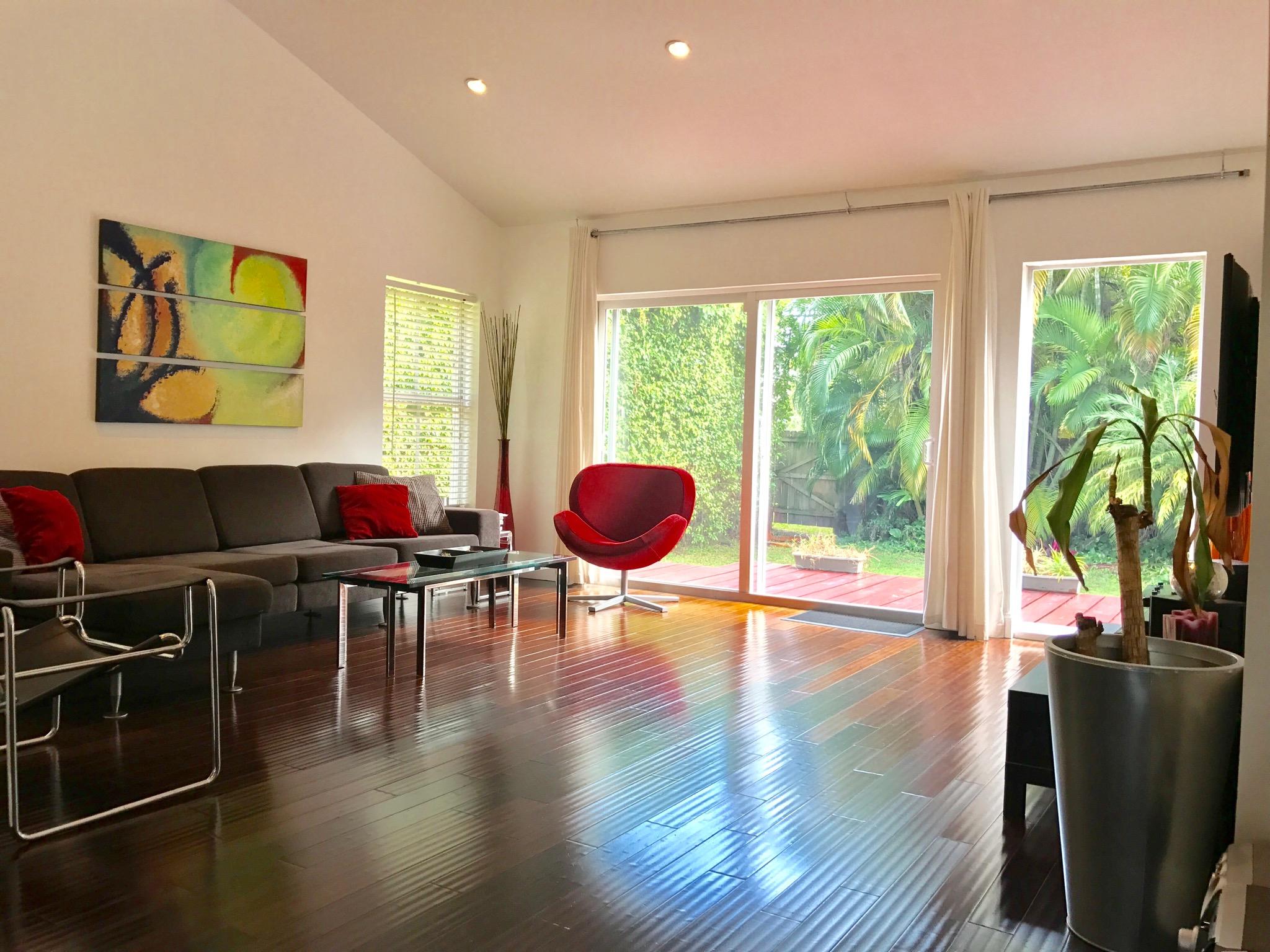 modern airbnb miami florida
