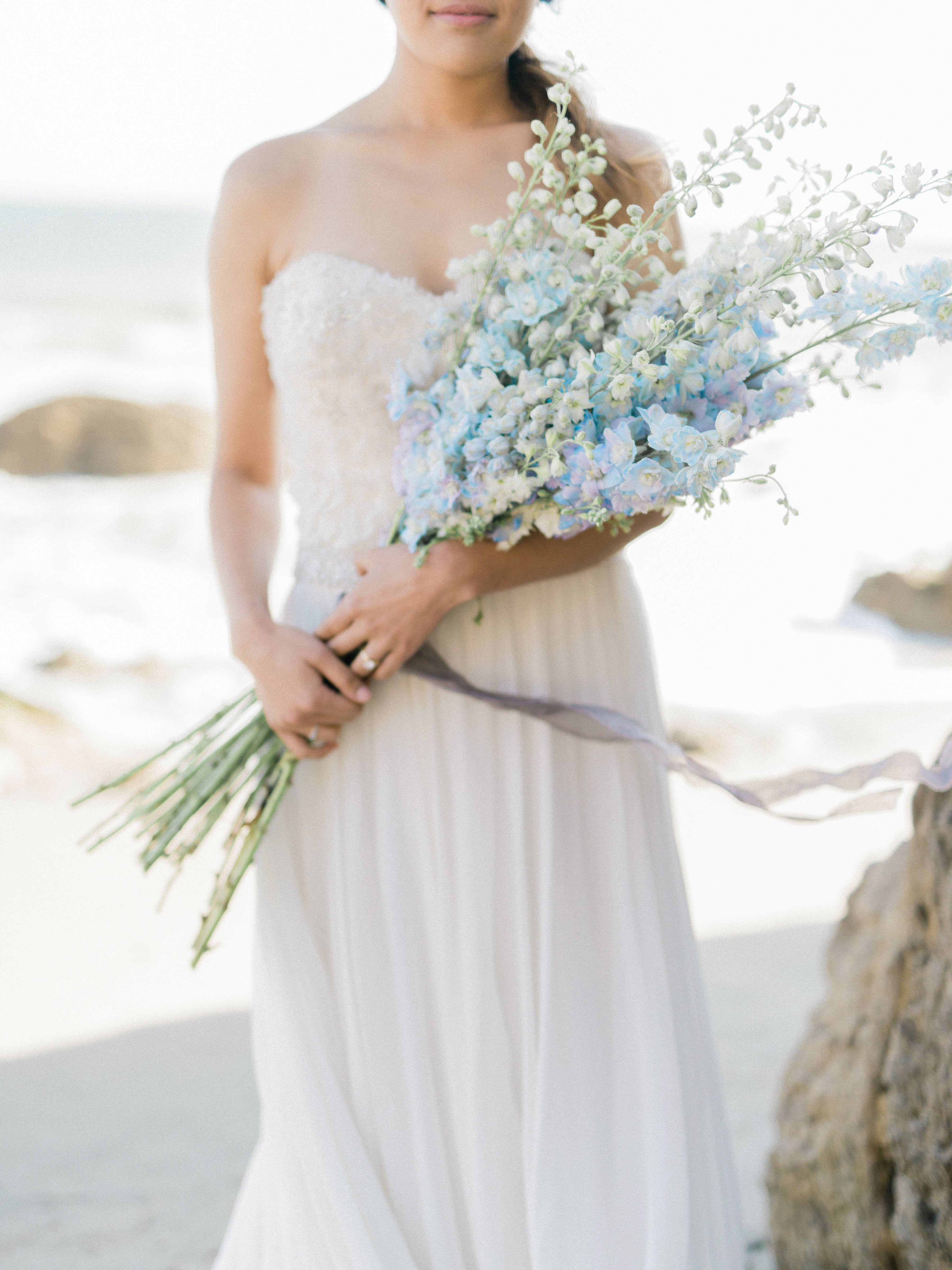 blue bouquet ether smith californiafloralanddesign