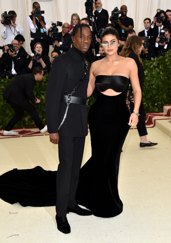 Kylie Jenner and Travis Scott Met Gala 2018