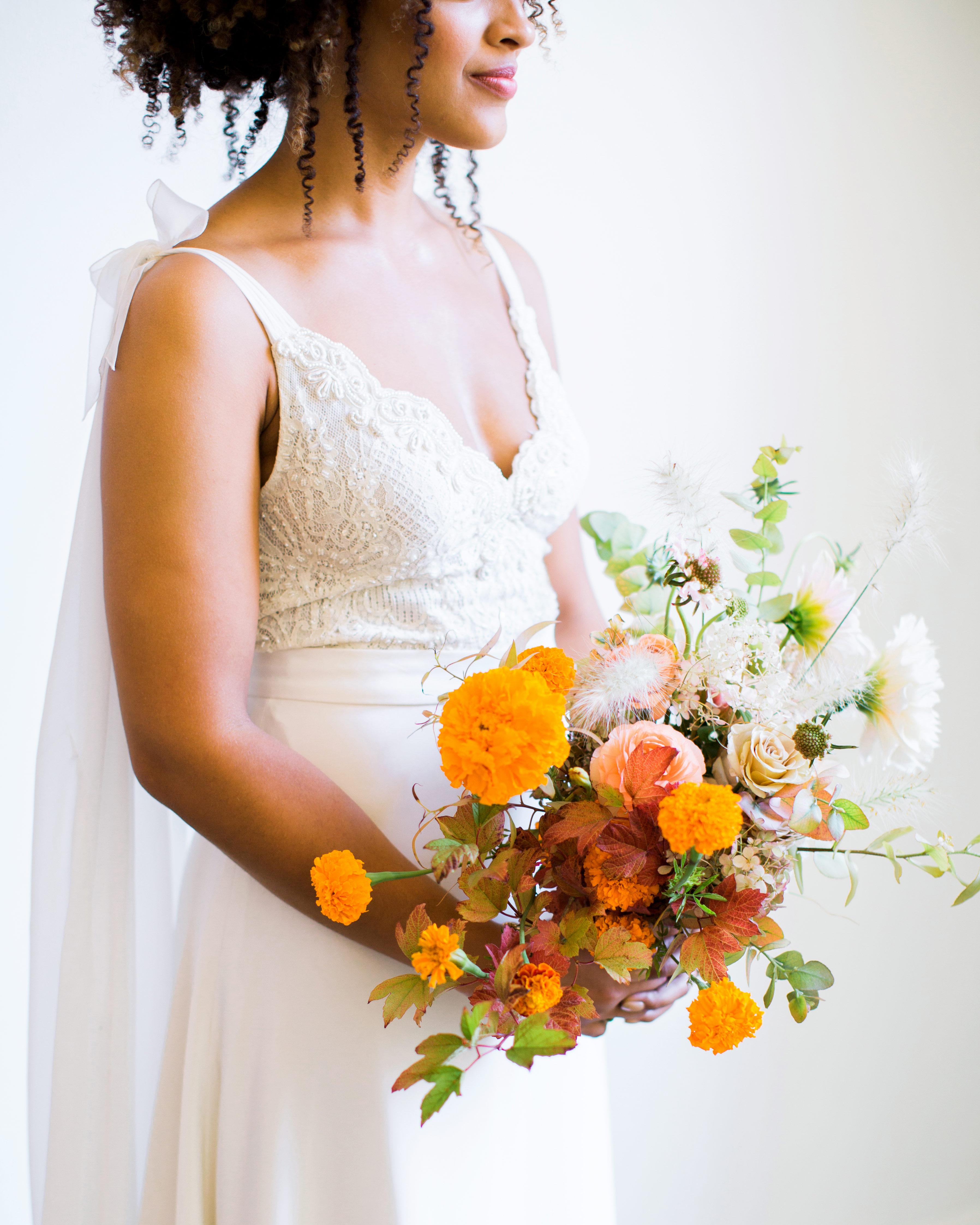 natalie louis wedding bouquet