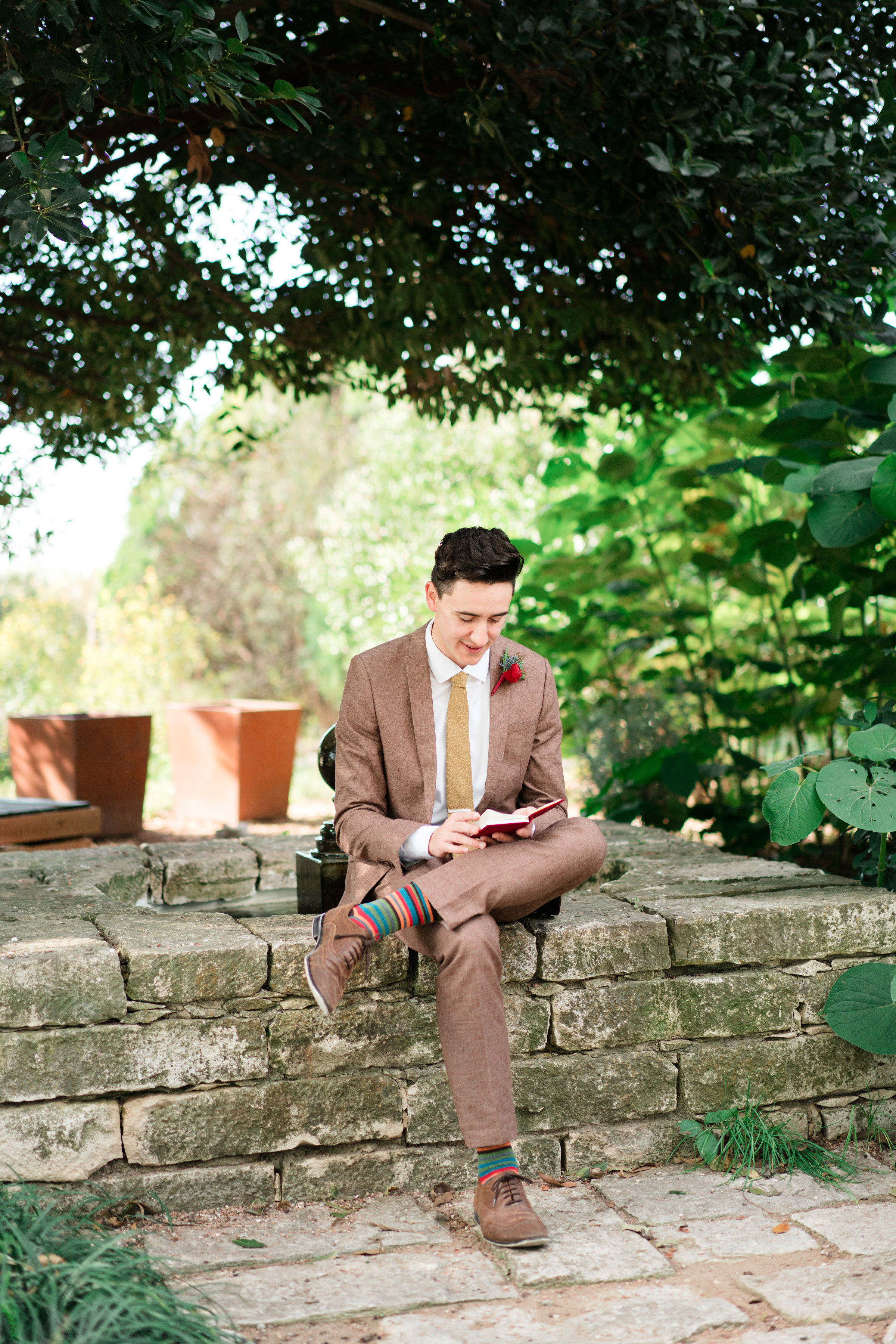 hayleigh corey wedding groom personal notes