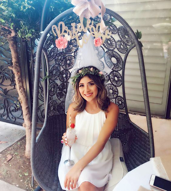 bridal shower ideas bride to be chair