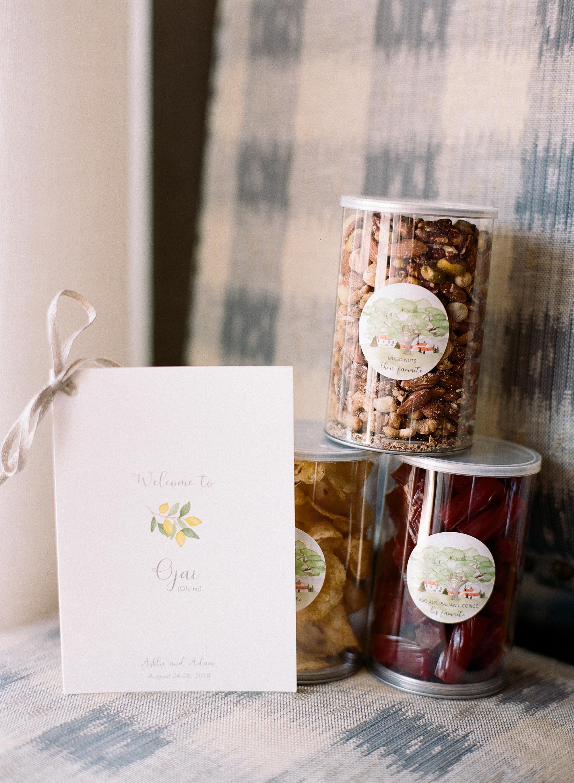 ashlie adam alpert wedding welcome box
