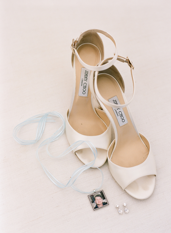 ashlie adam alpert wedding shoes charm necklace