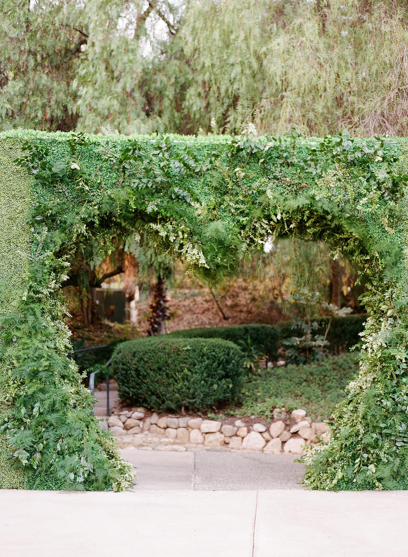ashlie adam alpert wedding entrance heart bush