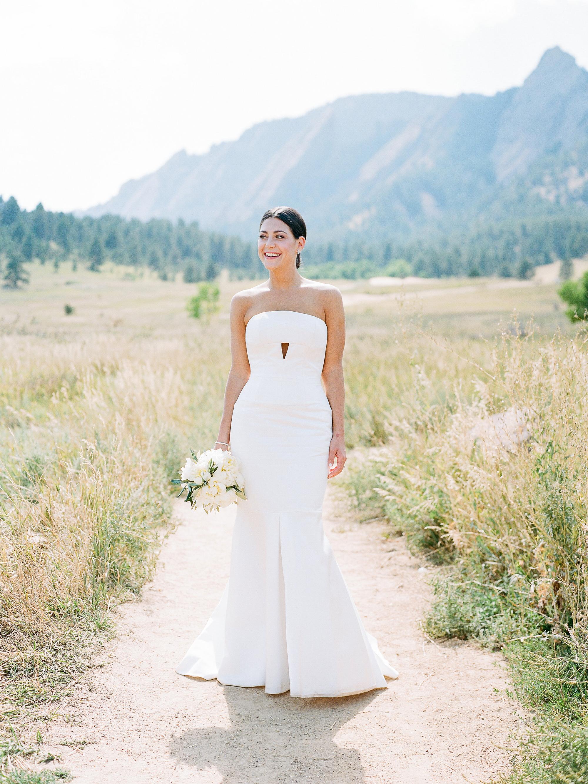 best wedding dresses 2018 jamie john simple white with peep hole