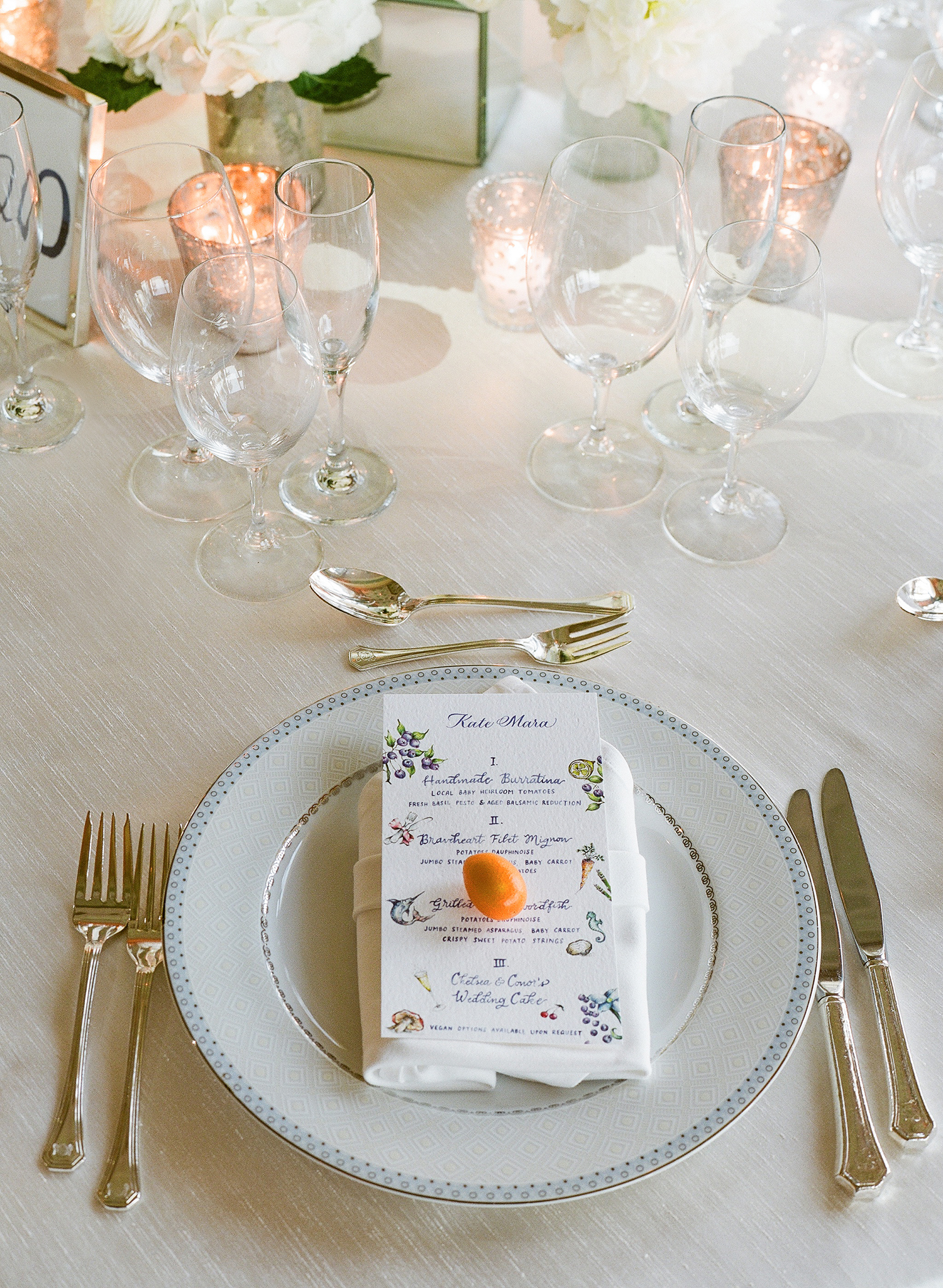 Menus and Matchmakers