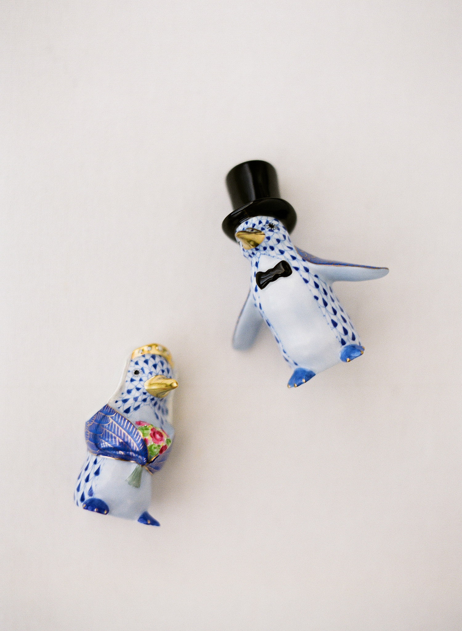 chelsea conor wedding cake toppers penguins