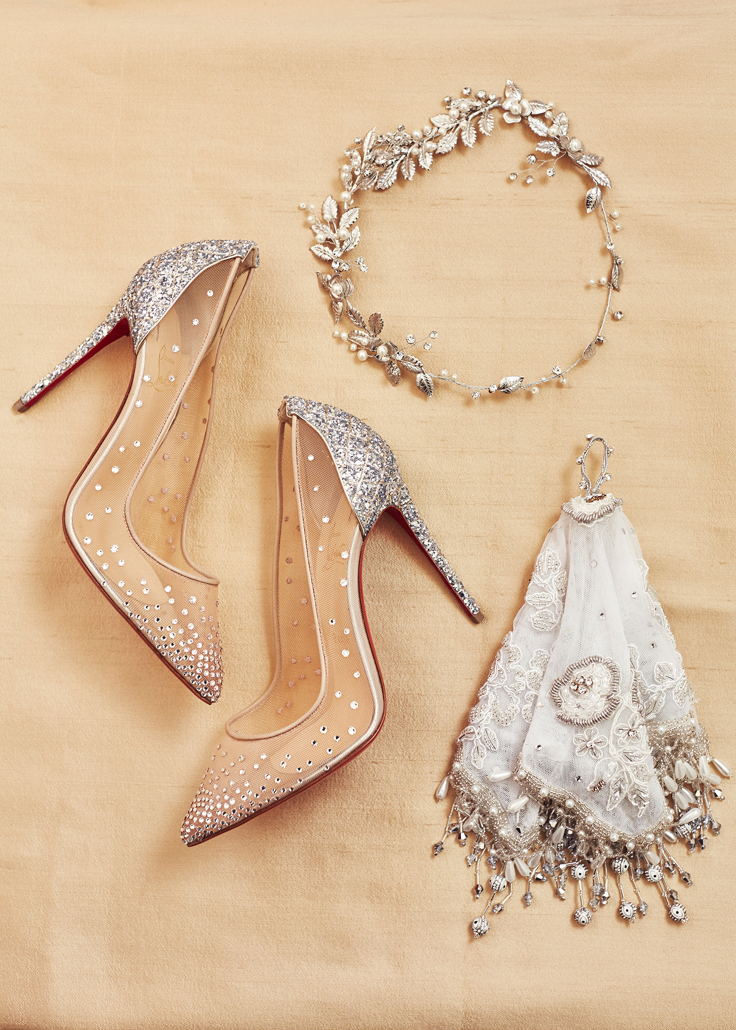 shqipe zenel wedding accessories shoes tiara