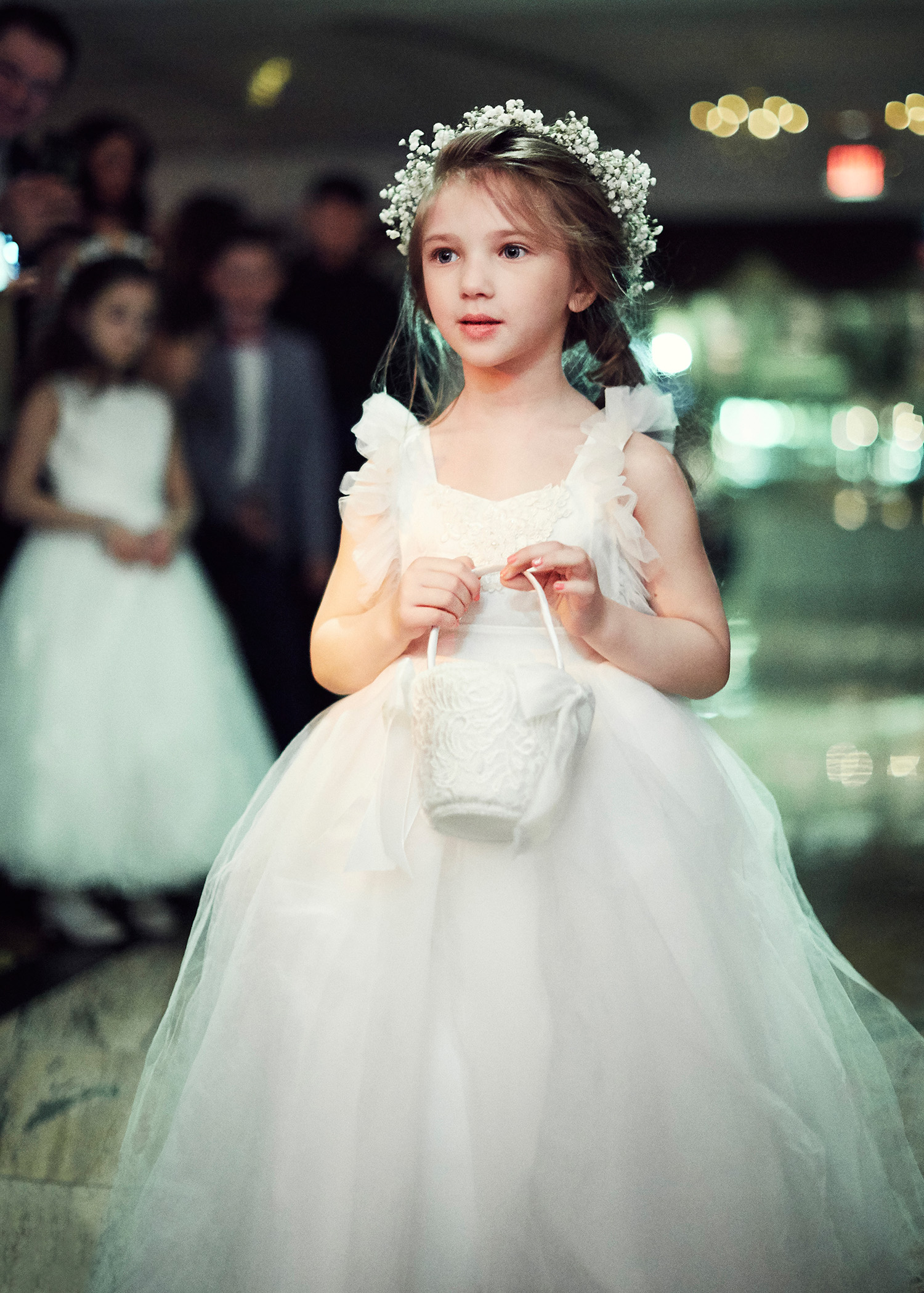 shqipe zenel wedding flower girl