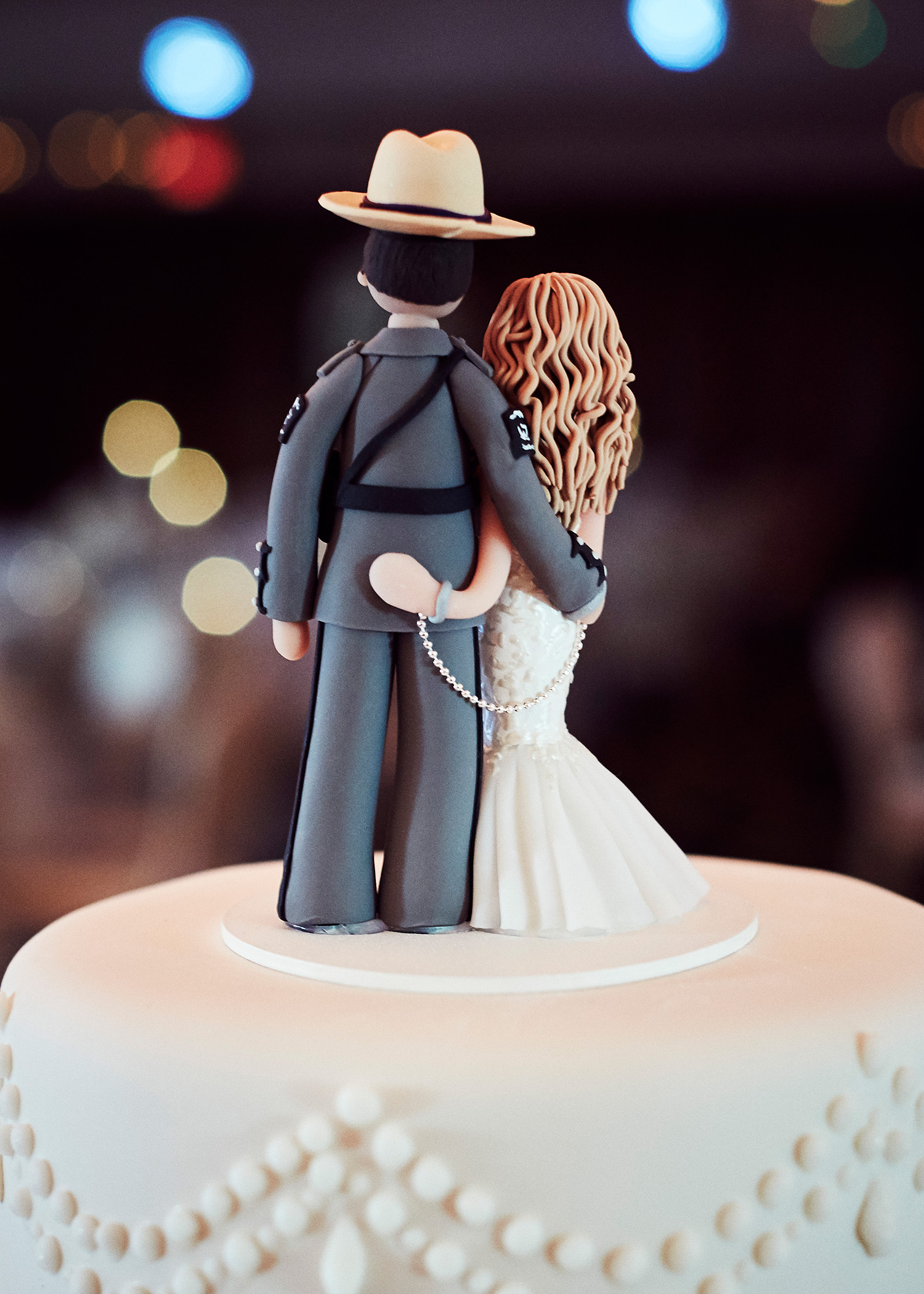 shqipe zenel wedding cake couple topper