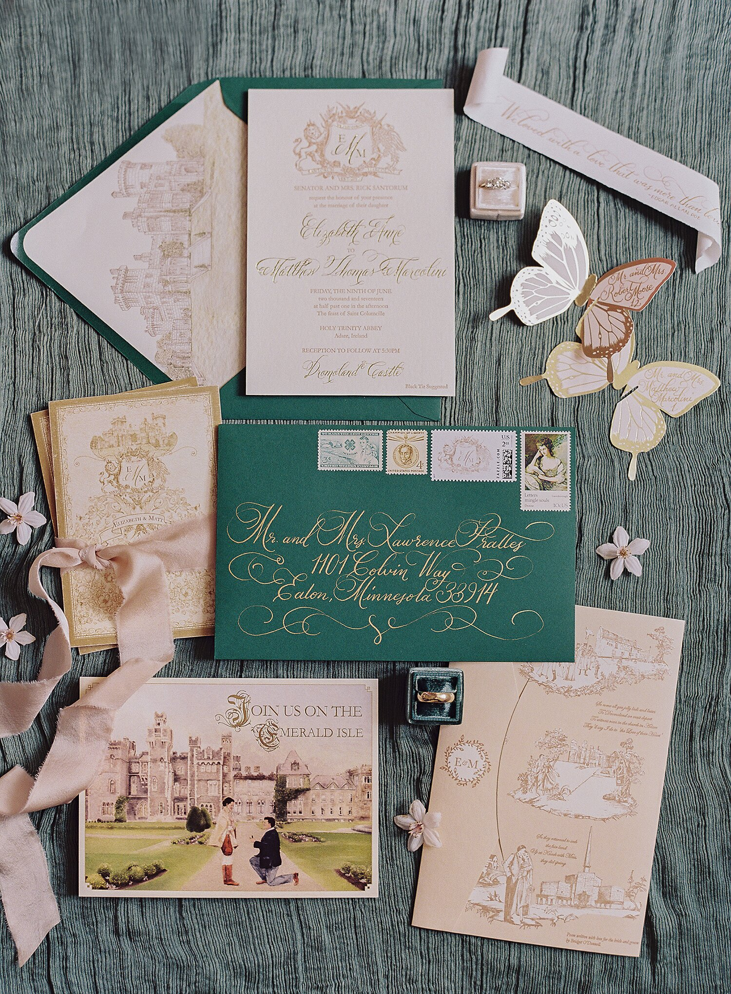 The Best Vintage Wedding Invitations Martha Weddings