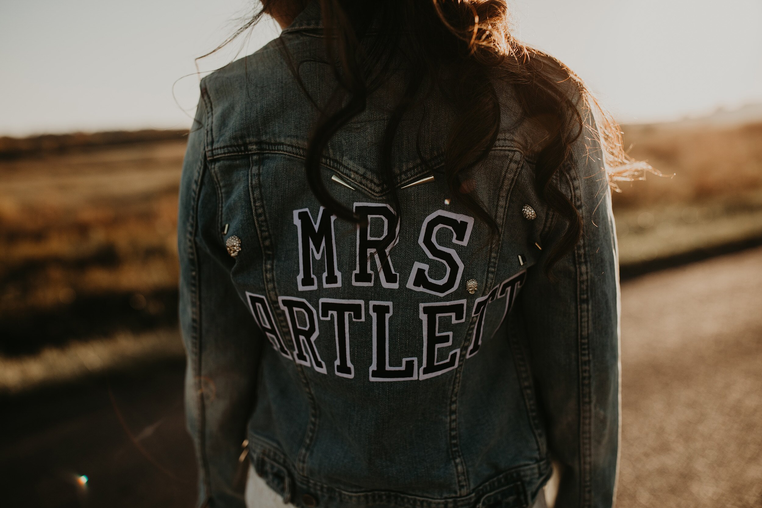 A Wedding Fashion Trend We Re Loving Personalized Bridal Jackets