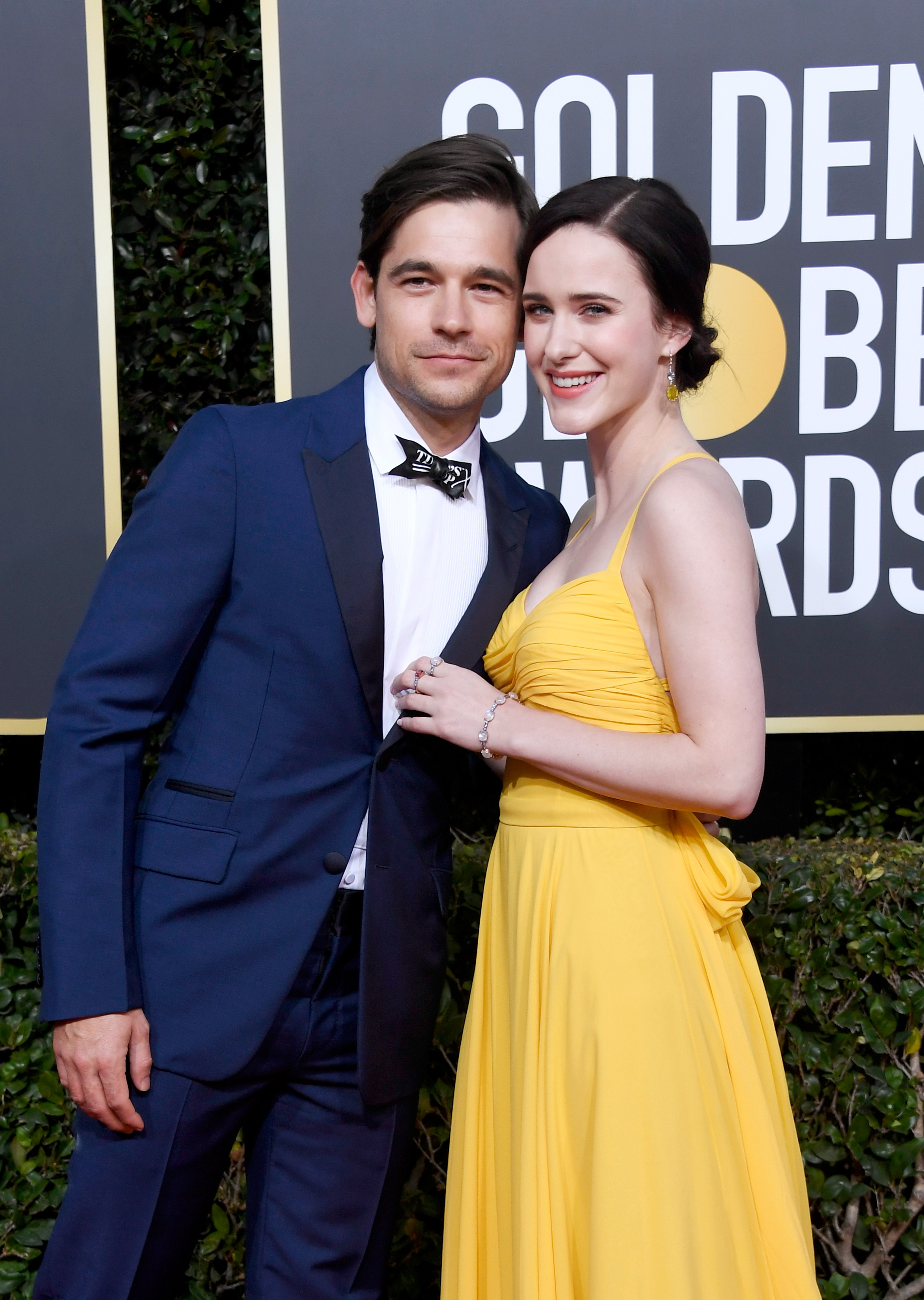 rachel brosnahan and jason ralph 2019 golden globes