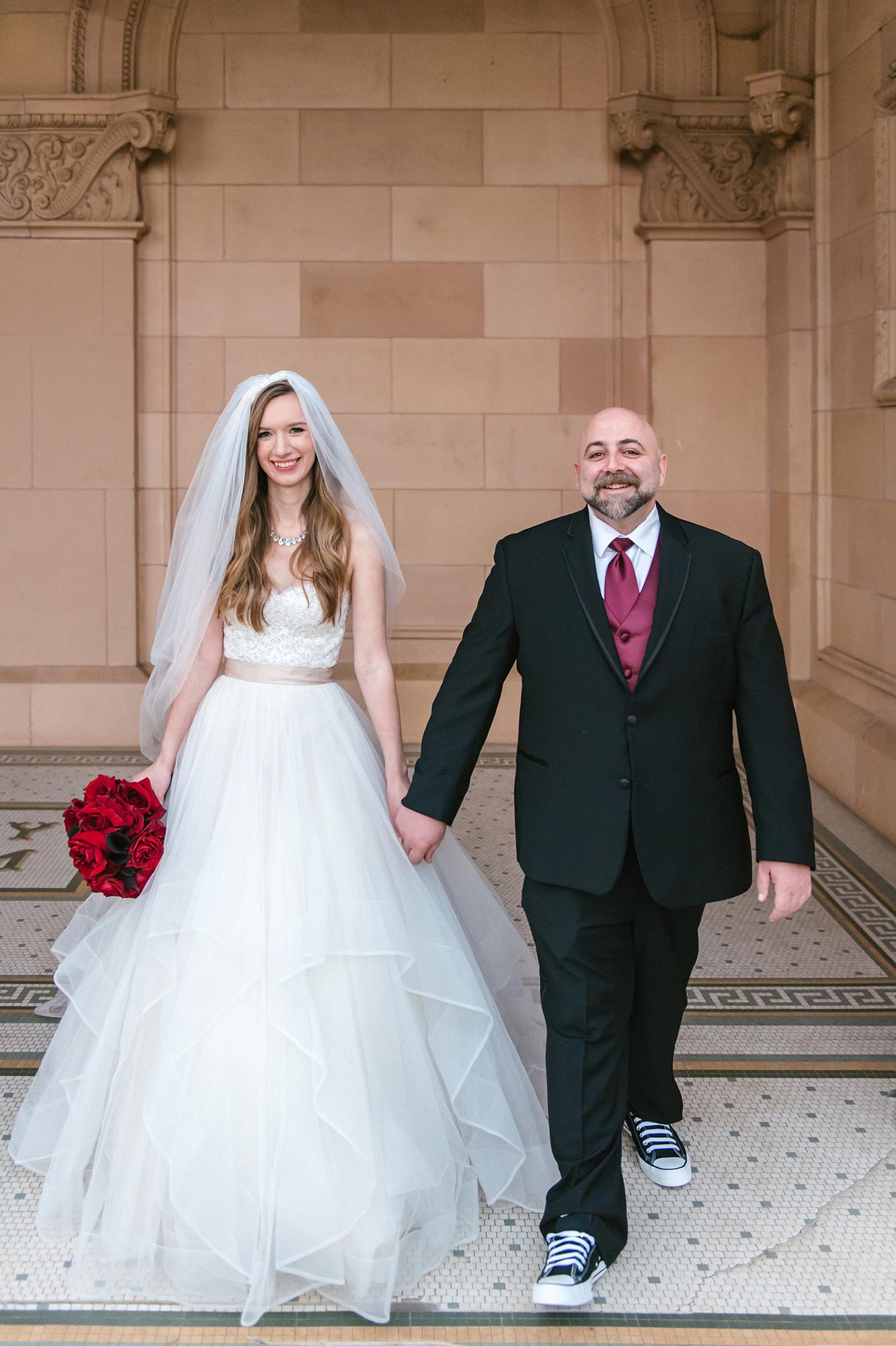 duff goldman johnna colbry couple walking together
