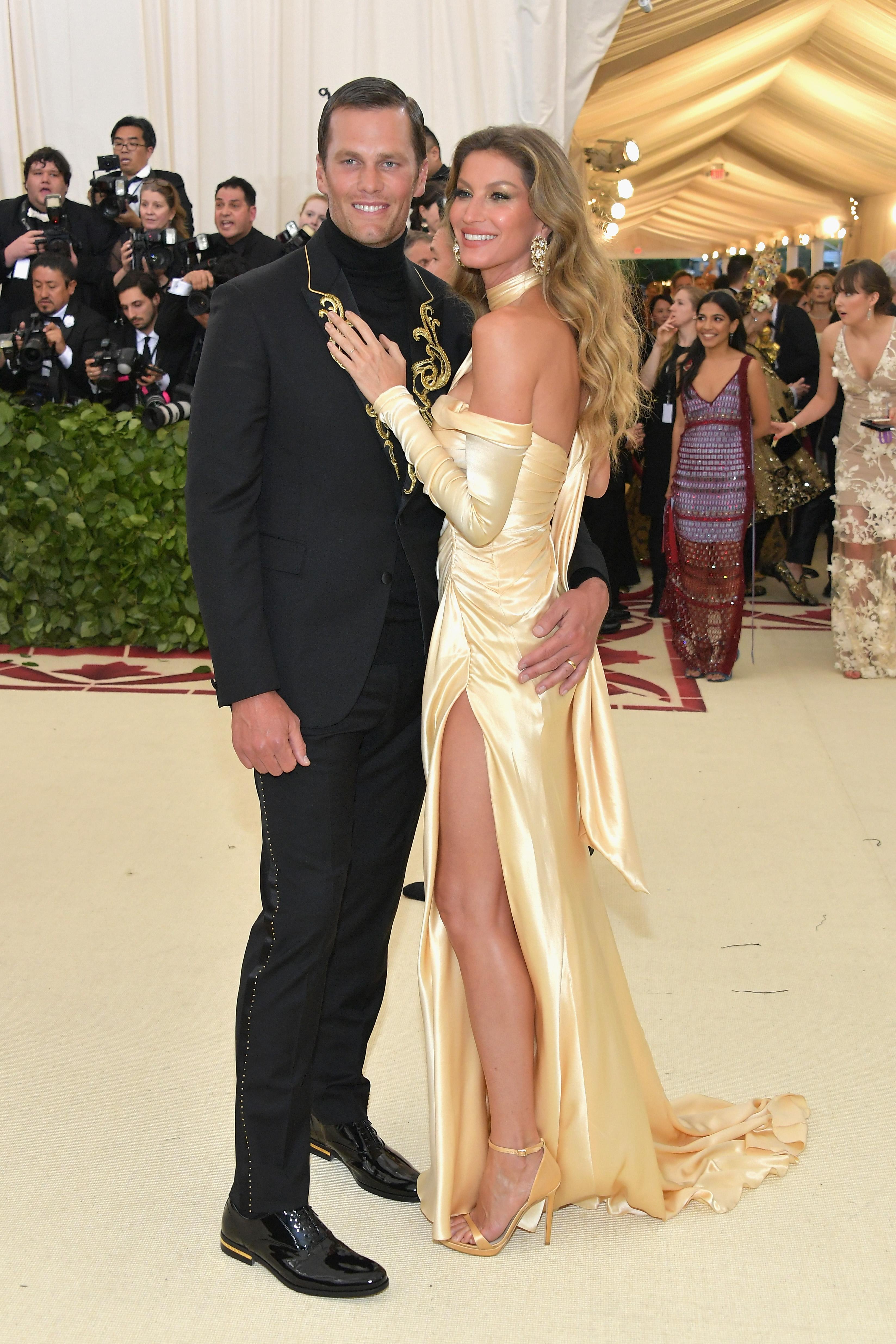 Tom Brady and Gisele Bundchen Met Gala 2018