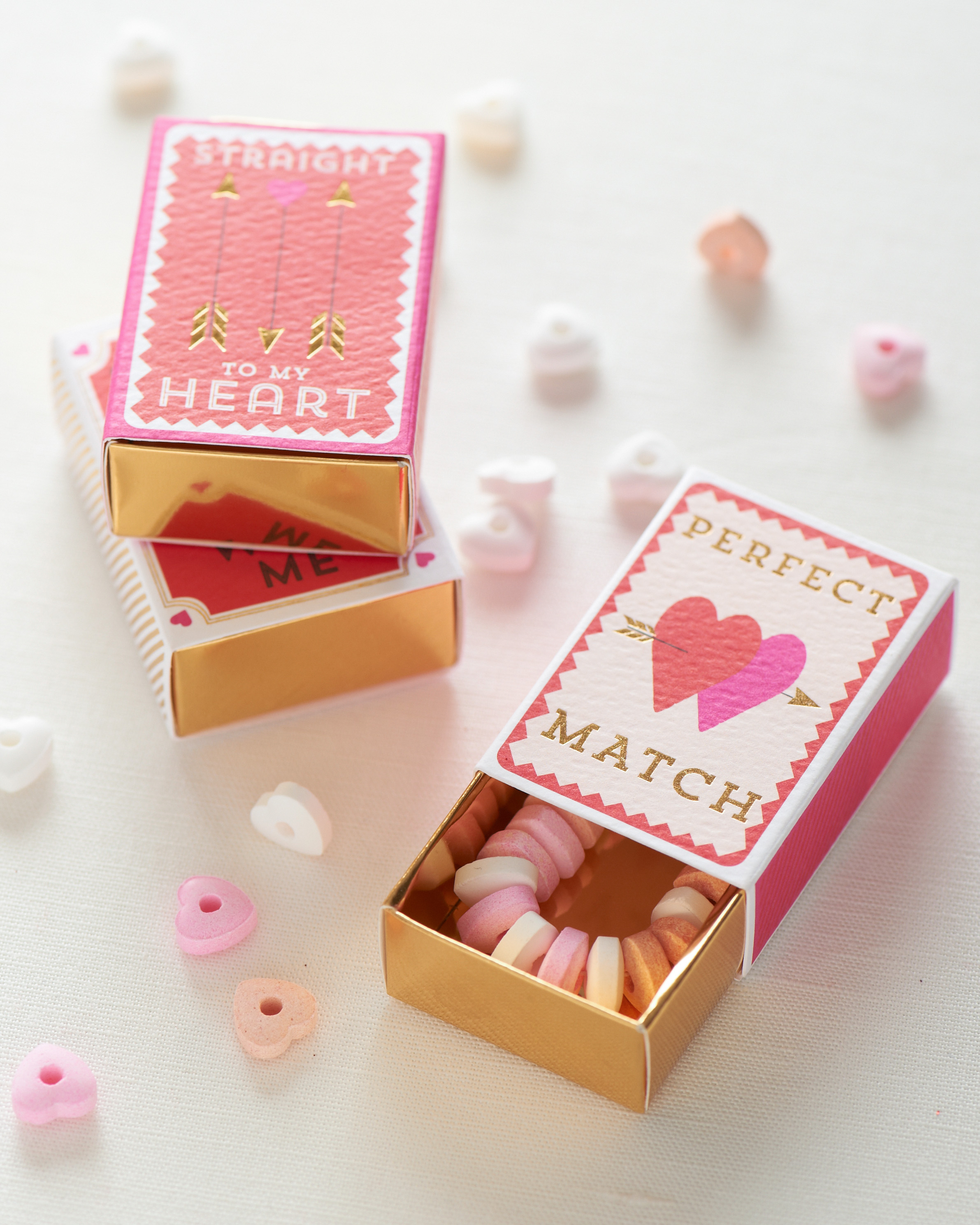 valentines favor candy necklaces and jewelry