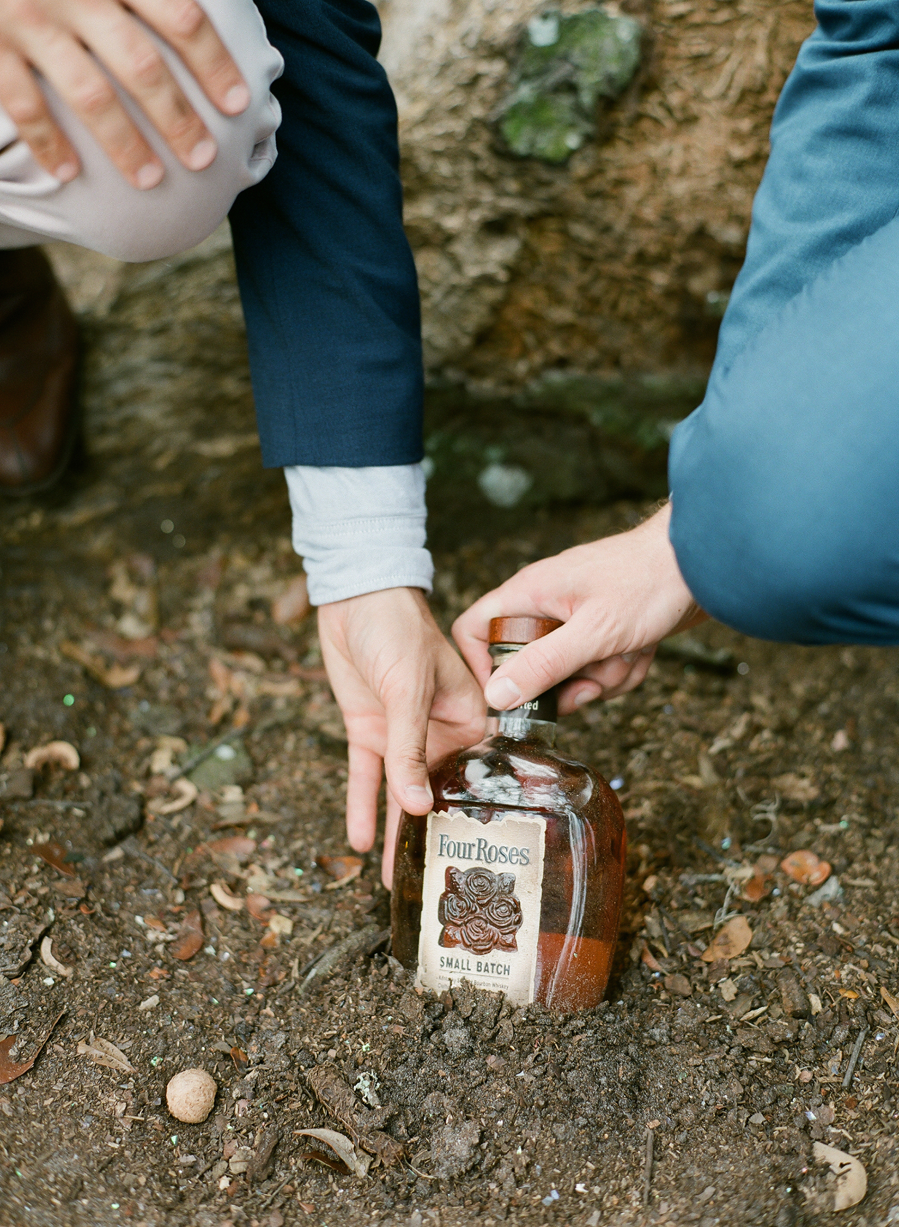 garrett and sean wedding bourbon