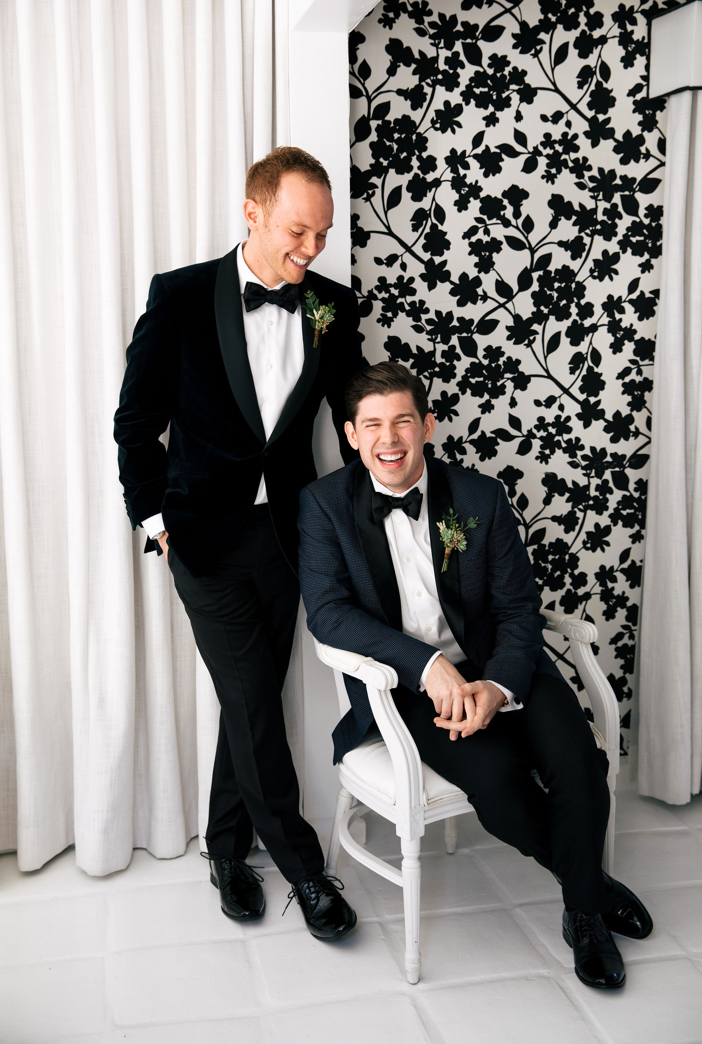 michael thomas wedding grooms
