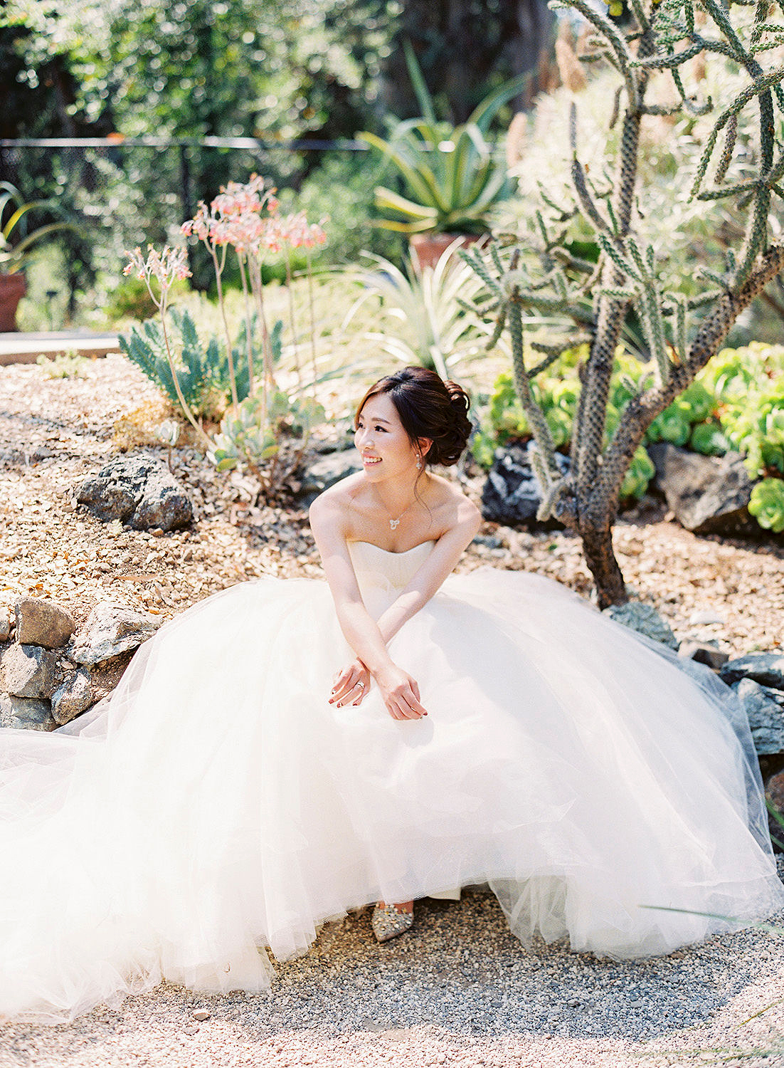 A Princess-Inspired Bridal Gown