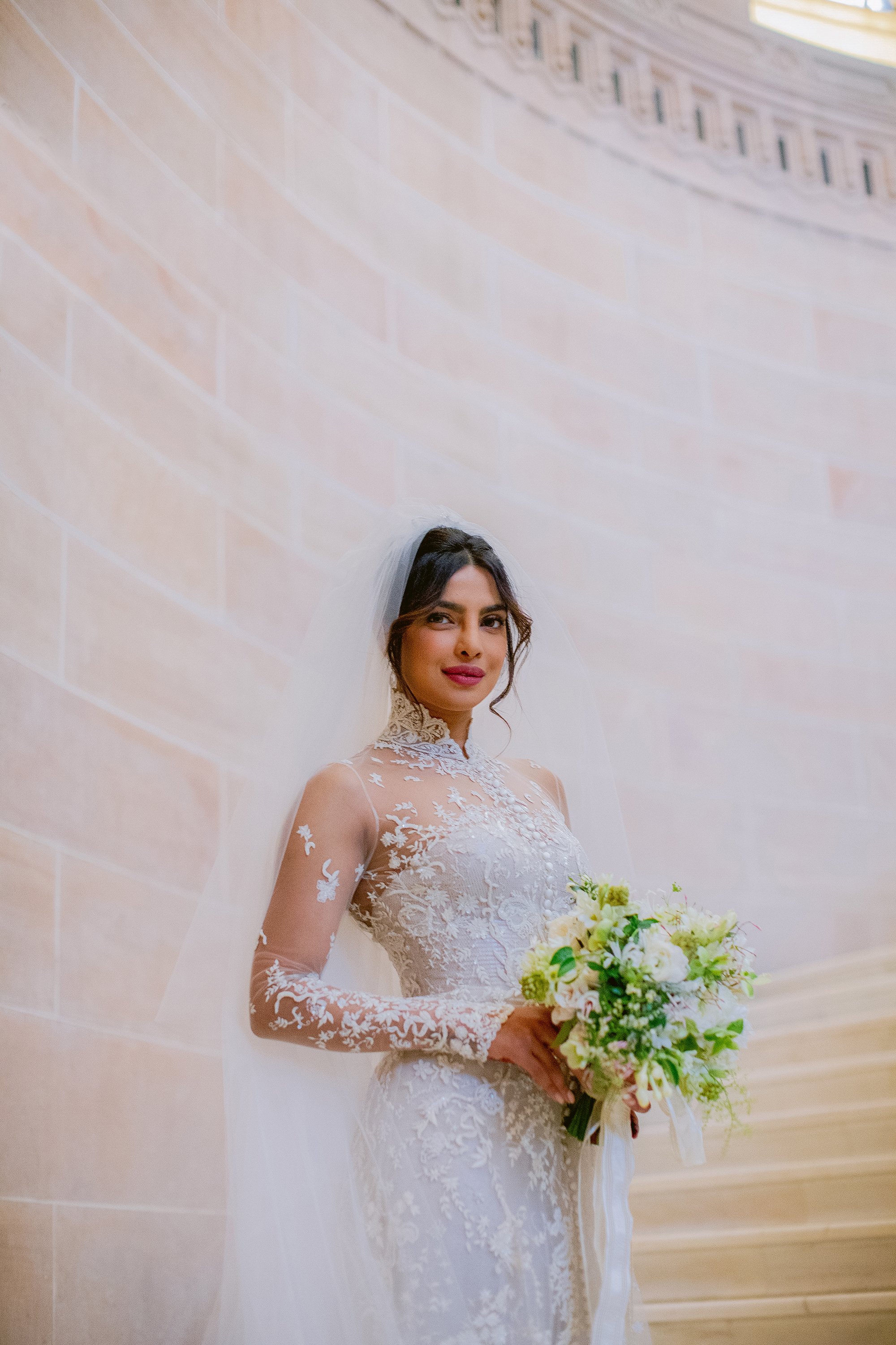 priyanka chopra and nick jonas wedding bouquet