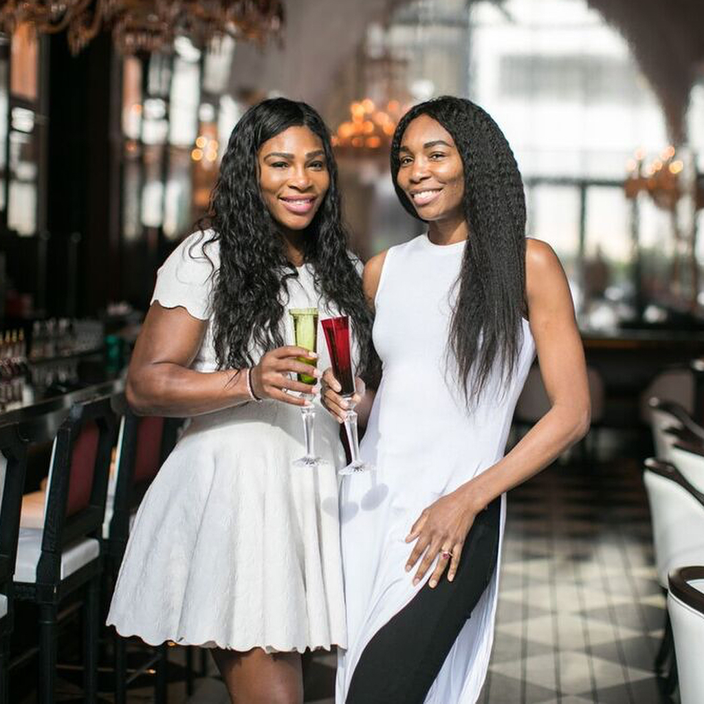serena and venus williams bridal shower