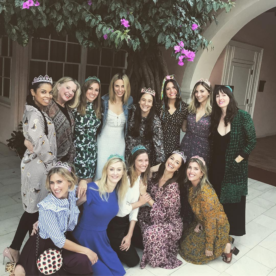 mandy moore bridal shower guests