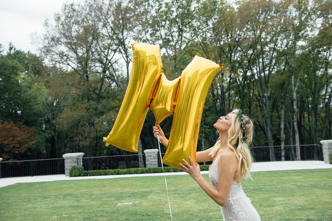 kelsea ballerini bridal shower balloon