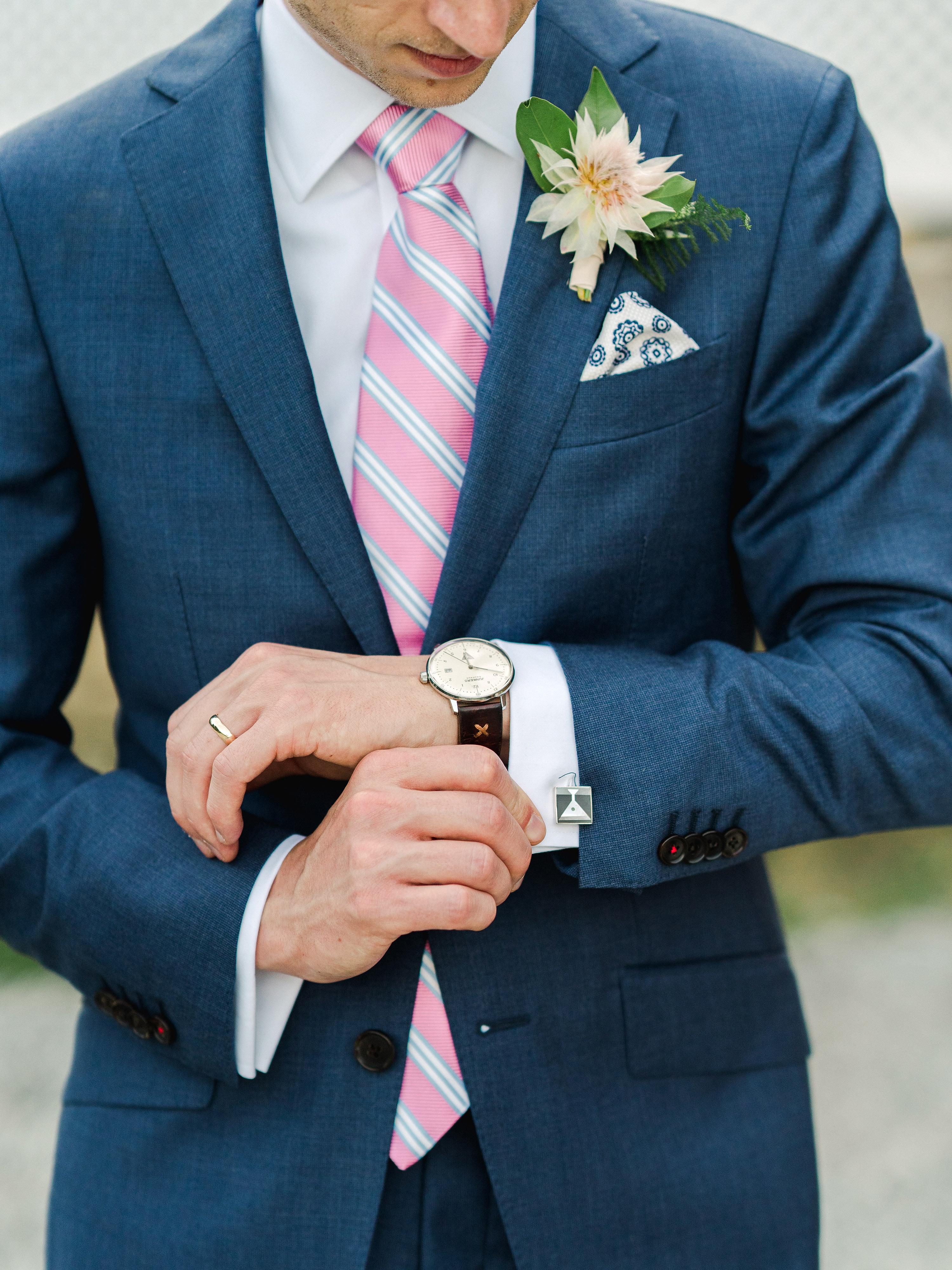 dayane collin wedding groom cuff links