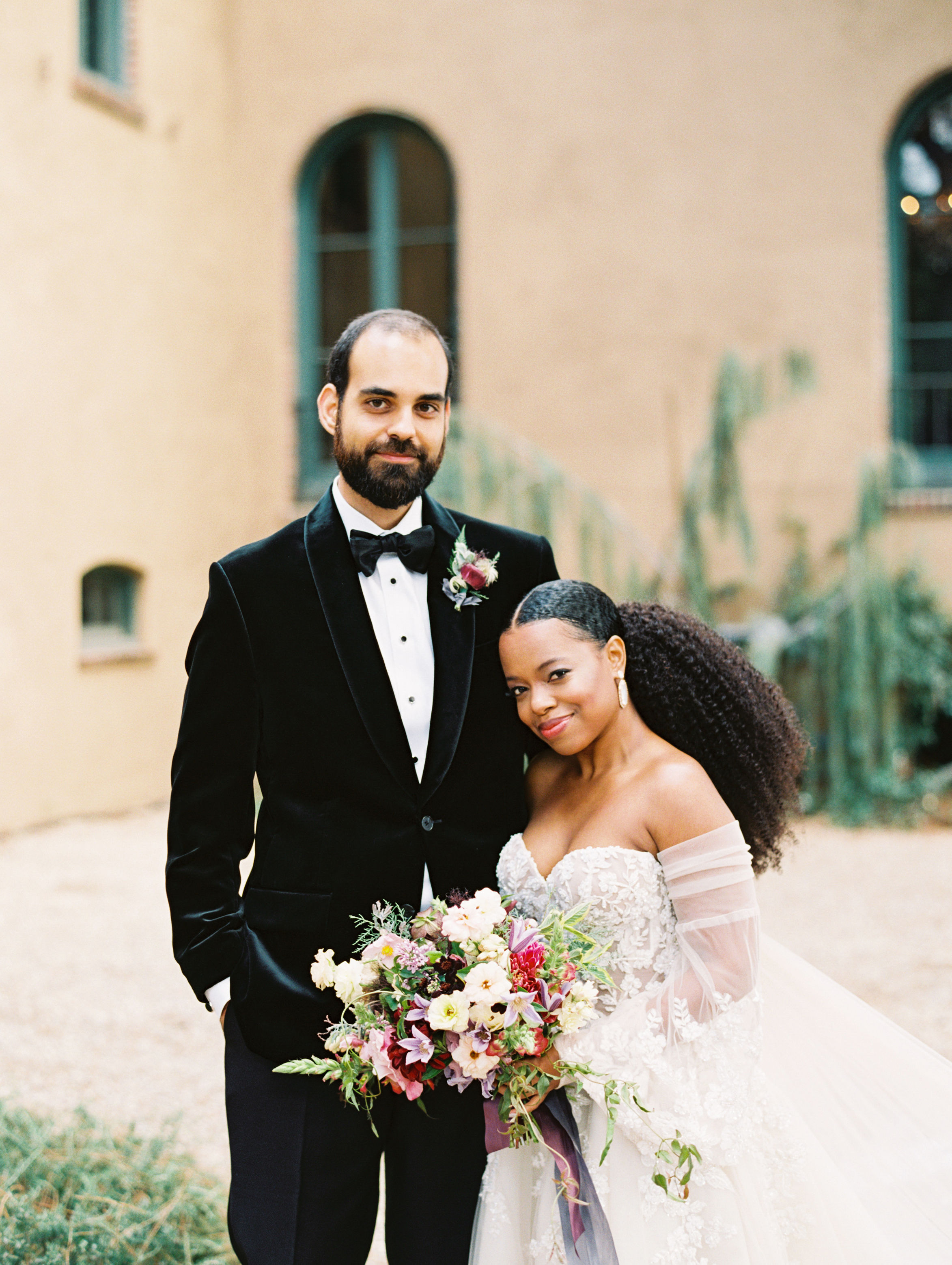 jamie and michael wedding couple