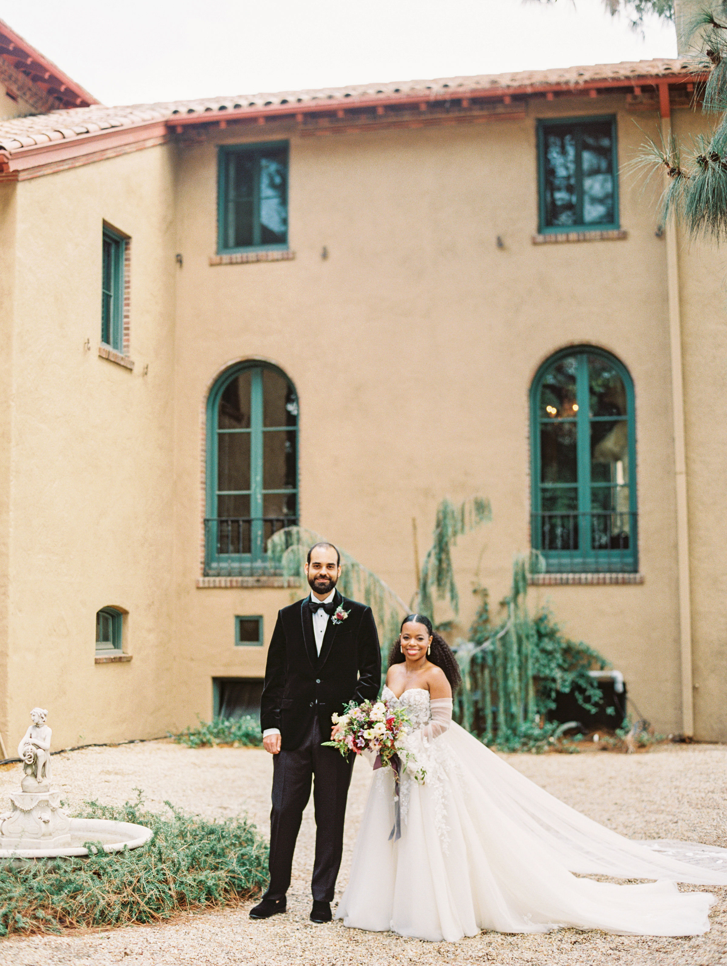 jamie and michael wedding bride and groom
