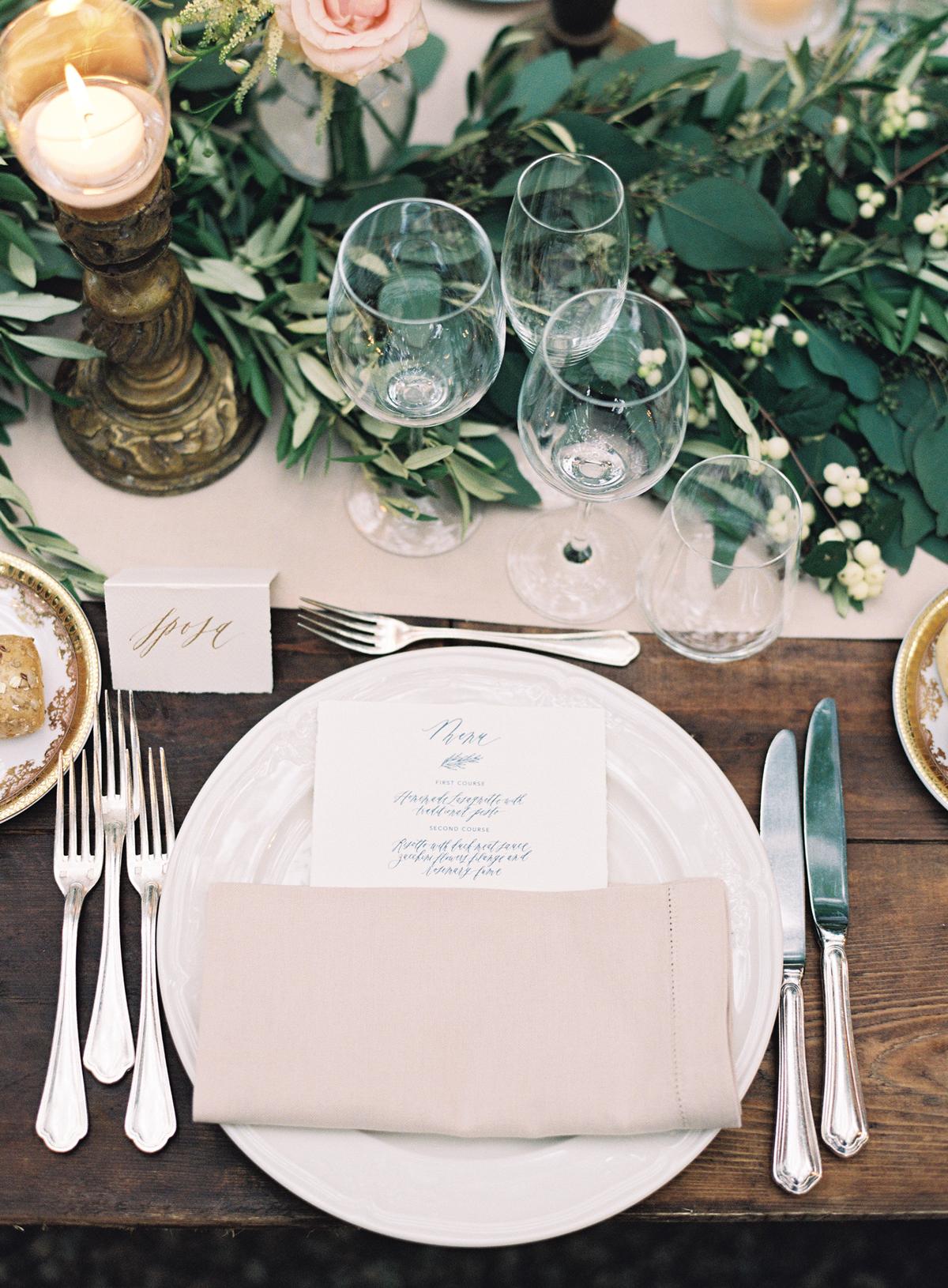 wedding reception napkin folds beige napkin in rectangular fold