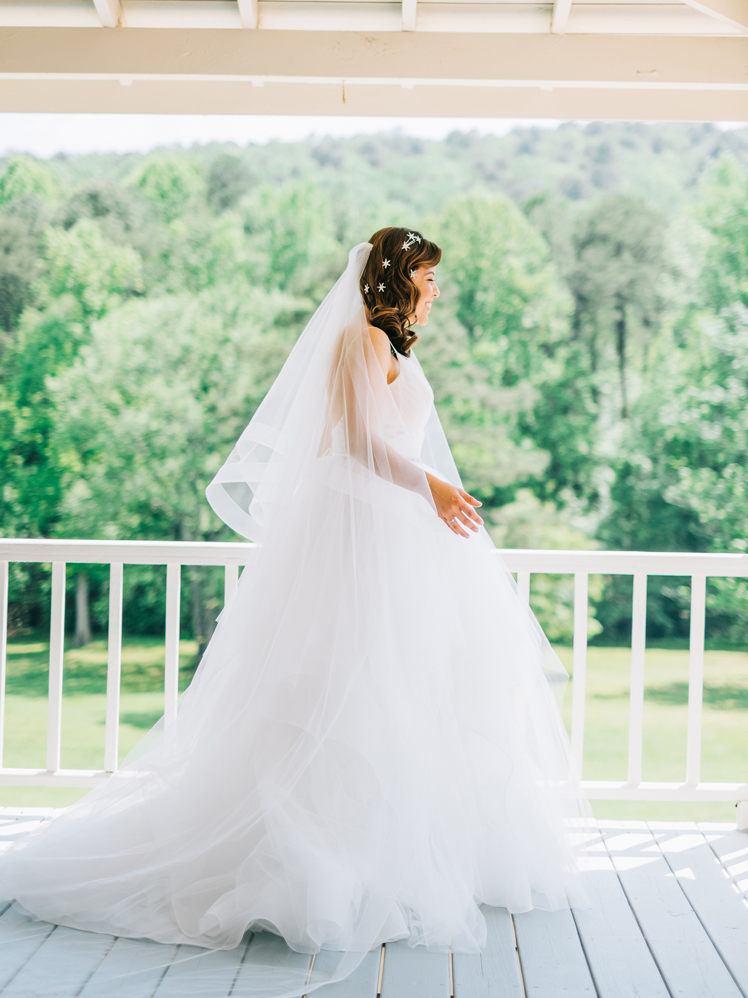 elizabeth jake georgia wedding bride veil